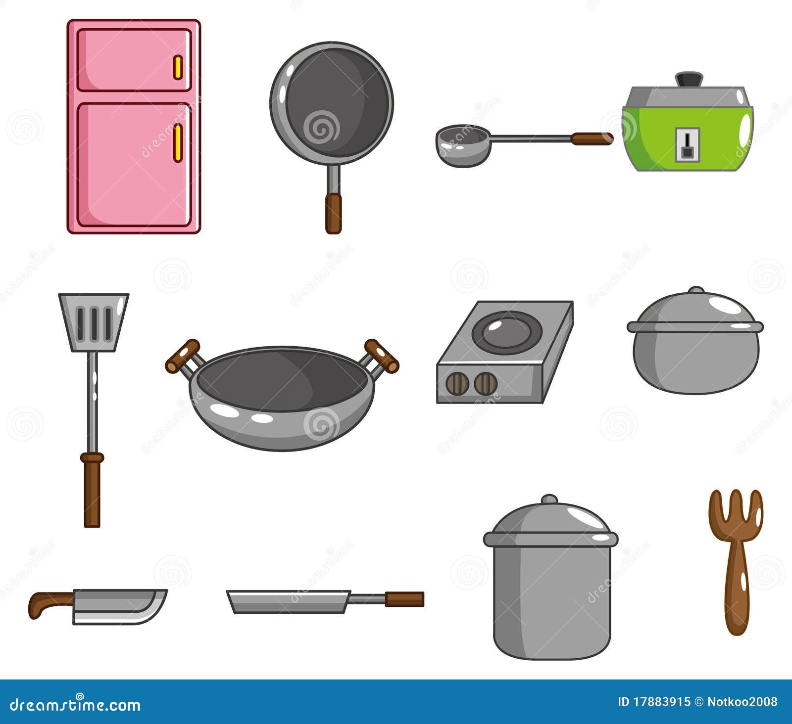 Free Online 3d Kitchen Design Tool: Cartoon Kitchen Tool Icon Royalty Free Stock Photo