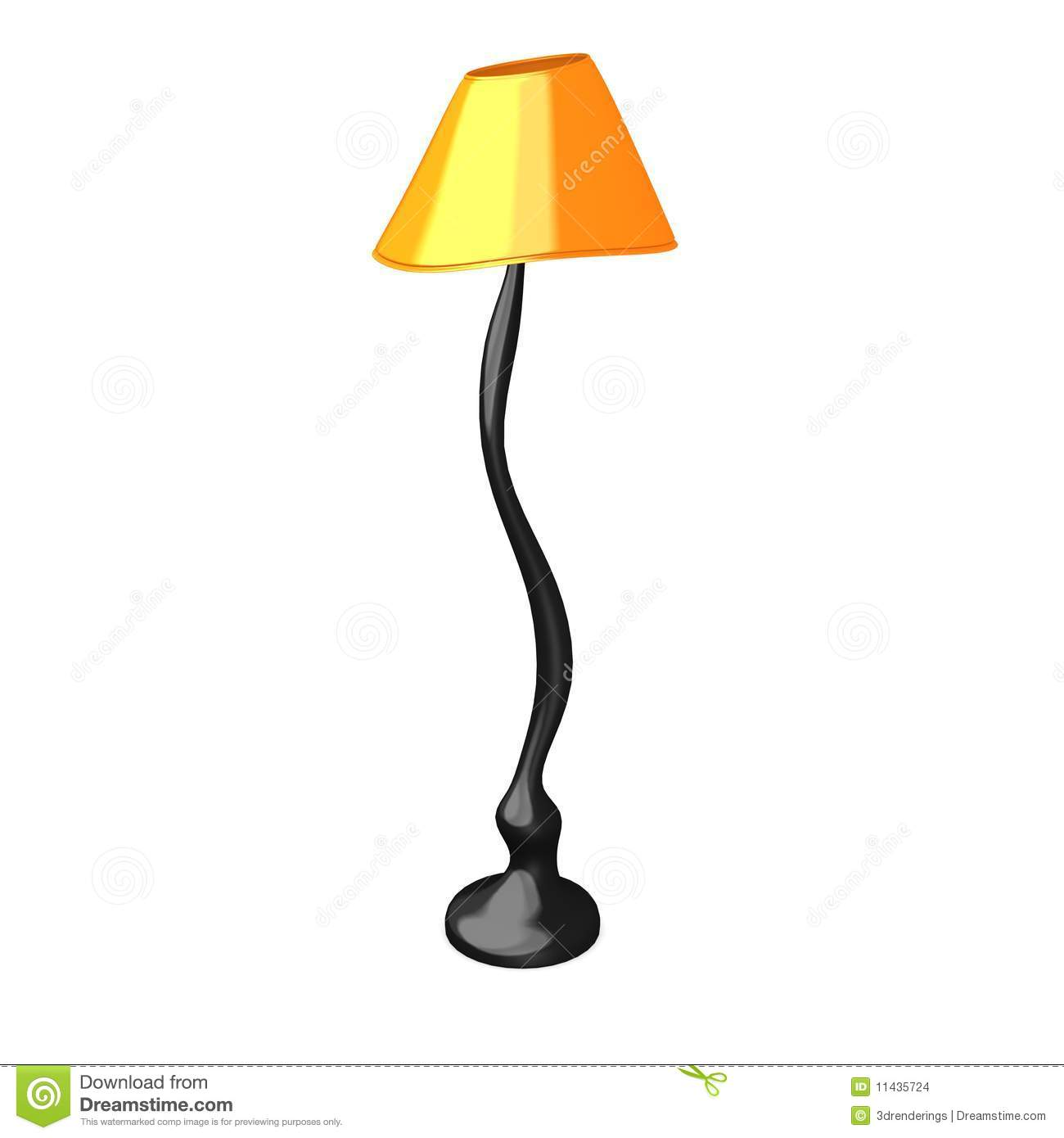 Cartoon Lamp Stock Images - Image: 11435724
