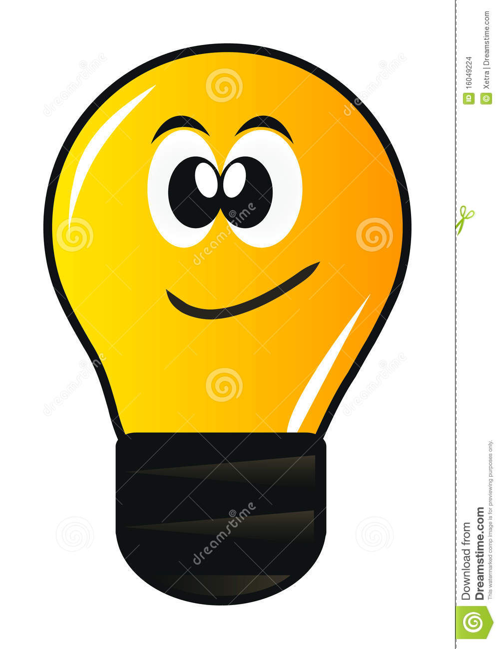 Cartoon Lamp Stock Images - Image: 16049224