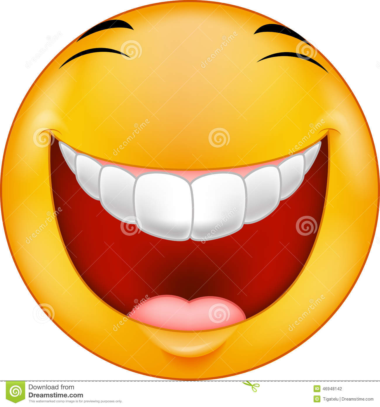 Cartoon Laughing smiley stock vector. Illustration of ... - photo#32