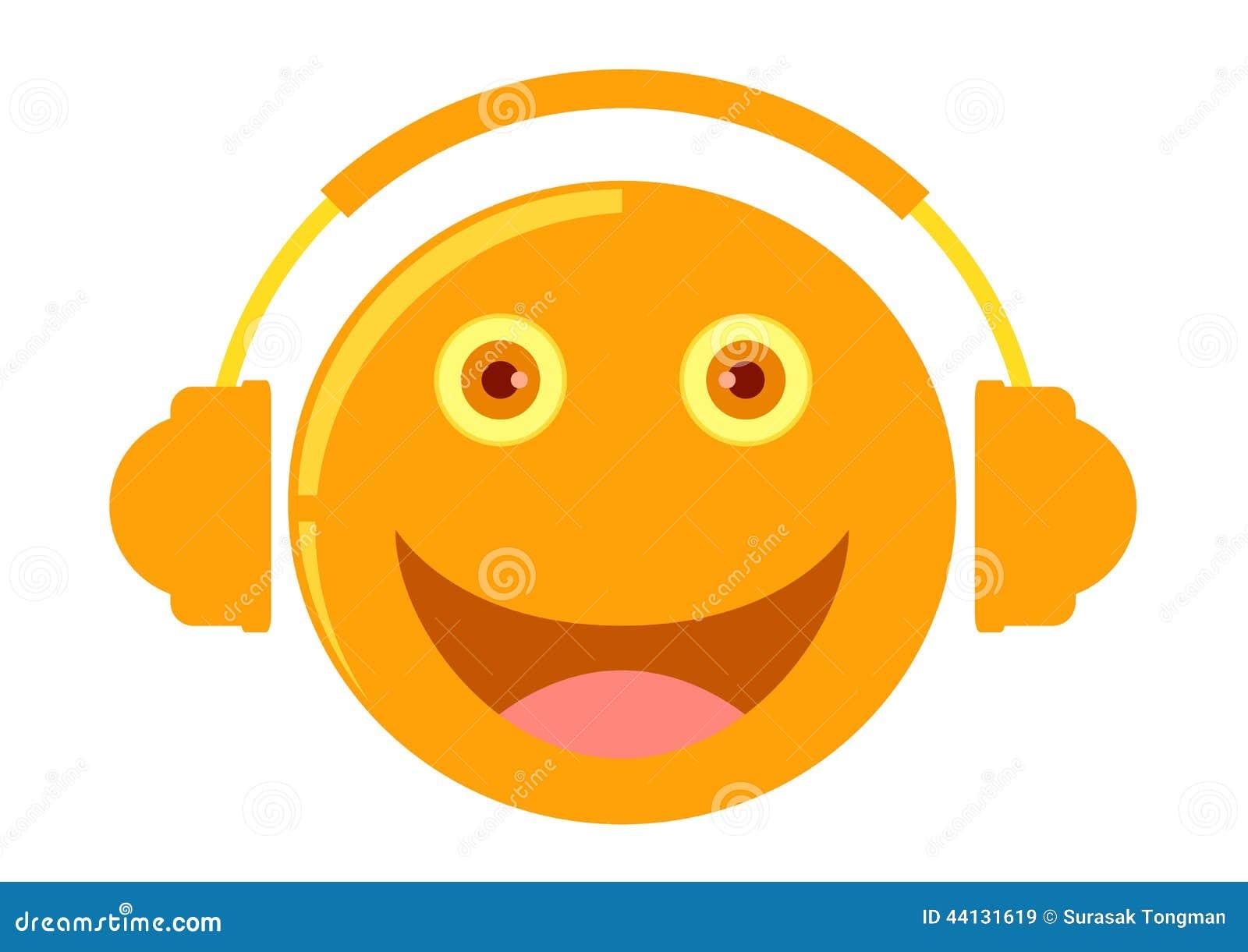 Image Gallery listening cartoon