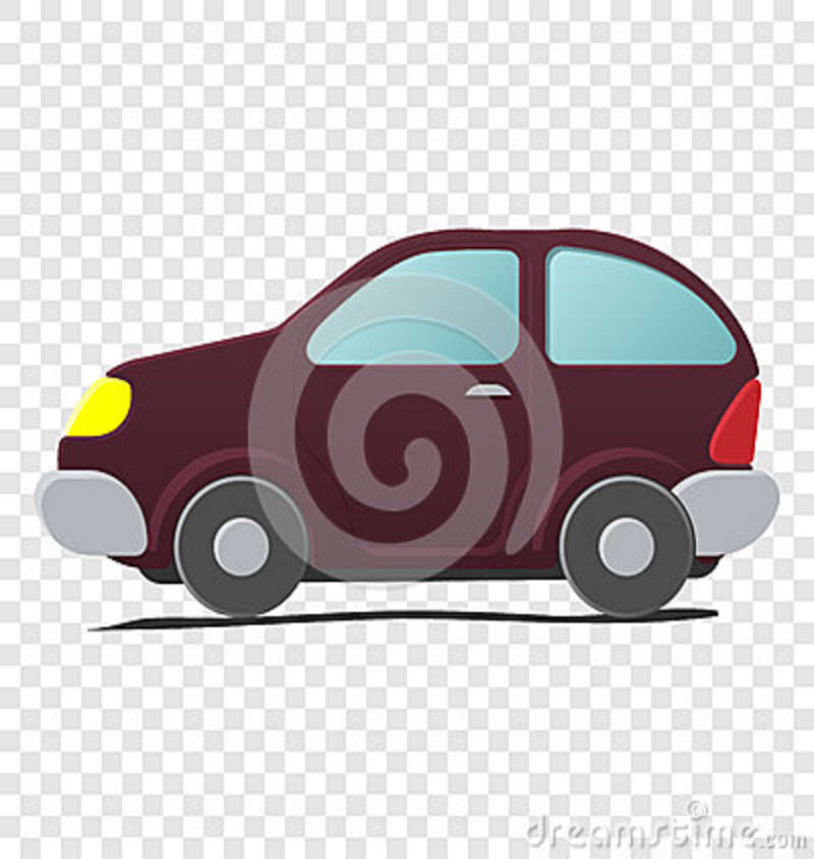 Cartoon Little Car Stock Vector Illustration Of Couper 79721928