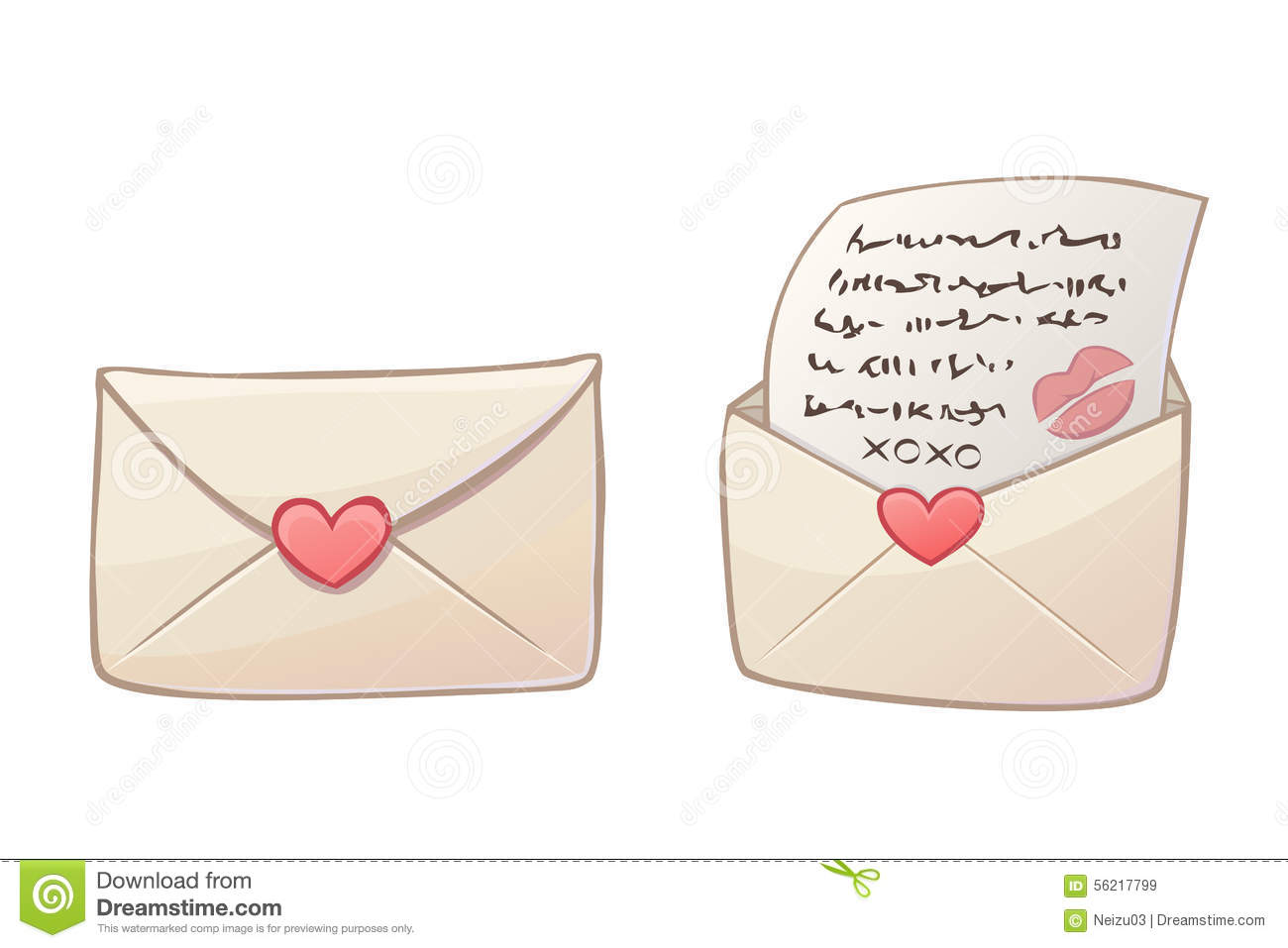how to send a love letter in the mail