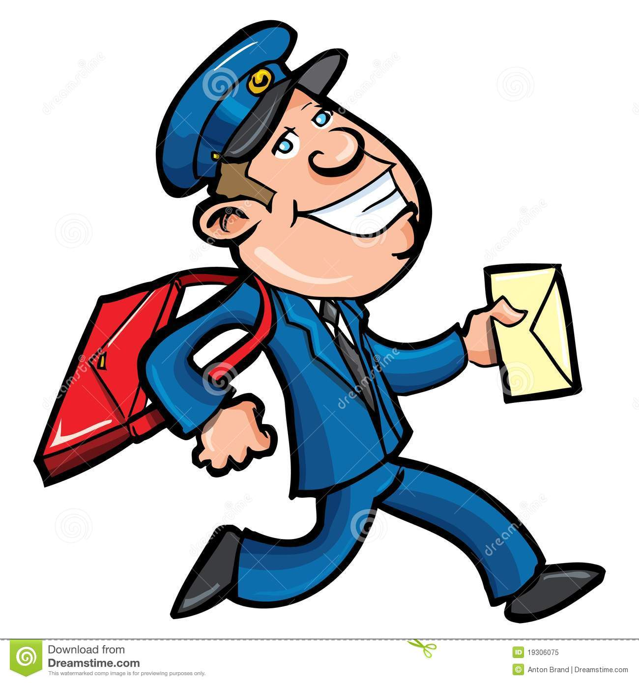 Displaying 18> Images For - Mailman Clipart...