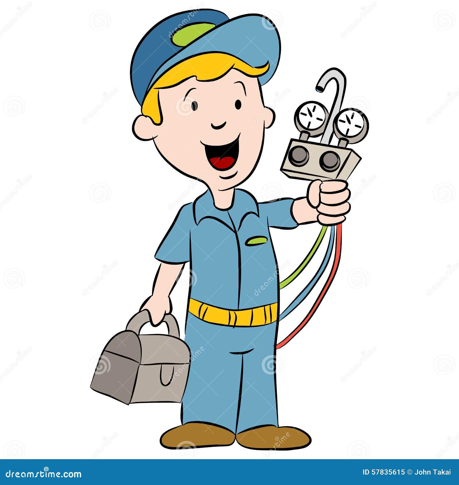 Air Conditioner Repair Clipart