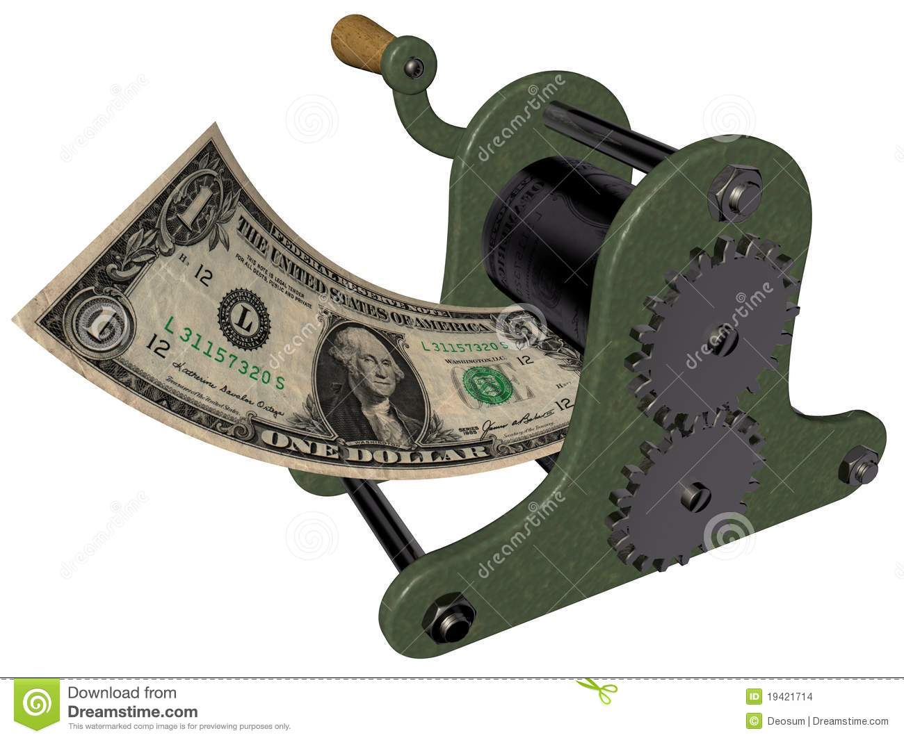 money press machine