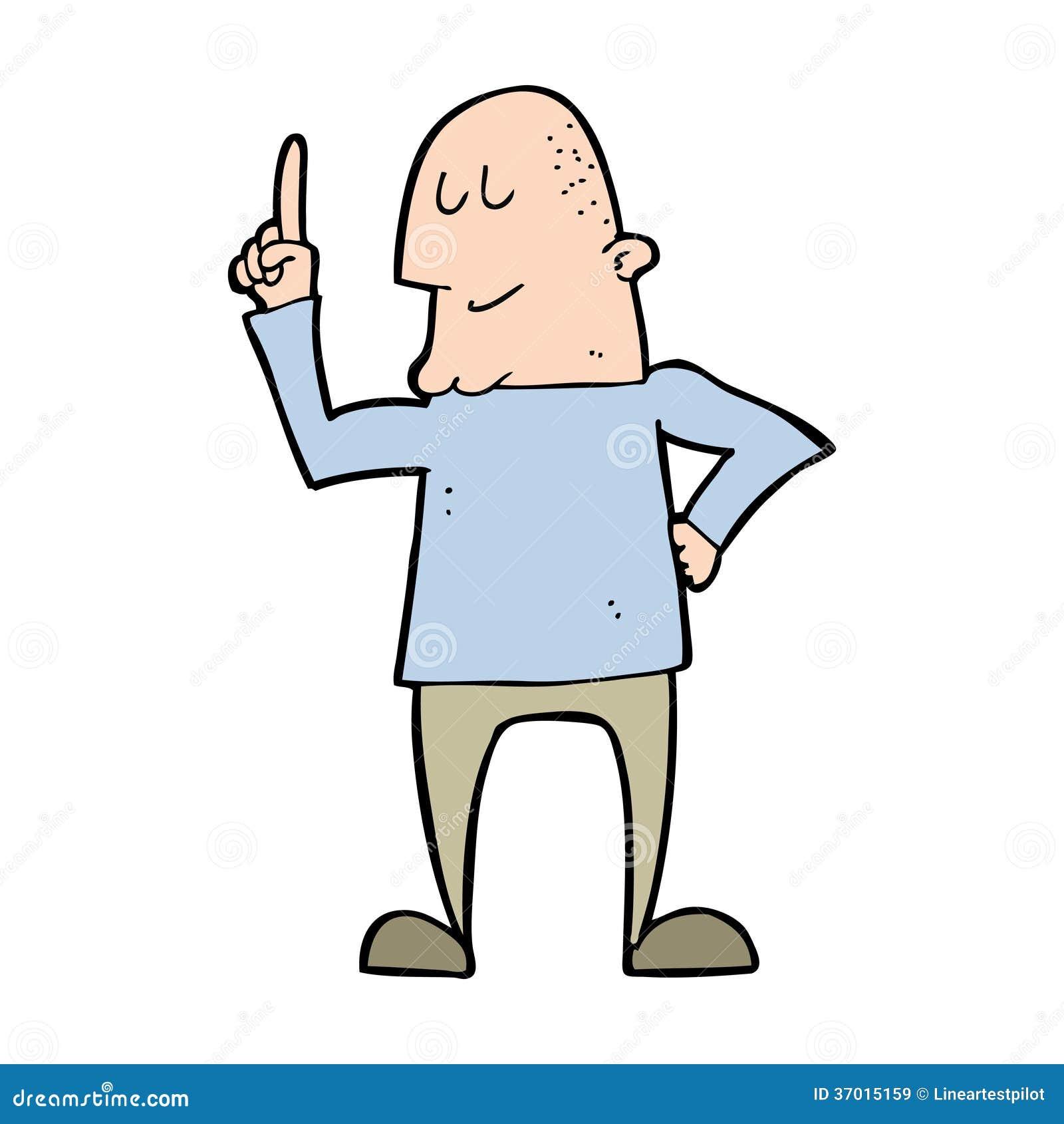 Guy Standing Up Cartoon