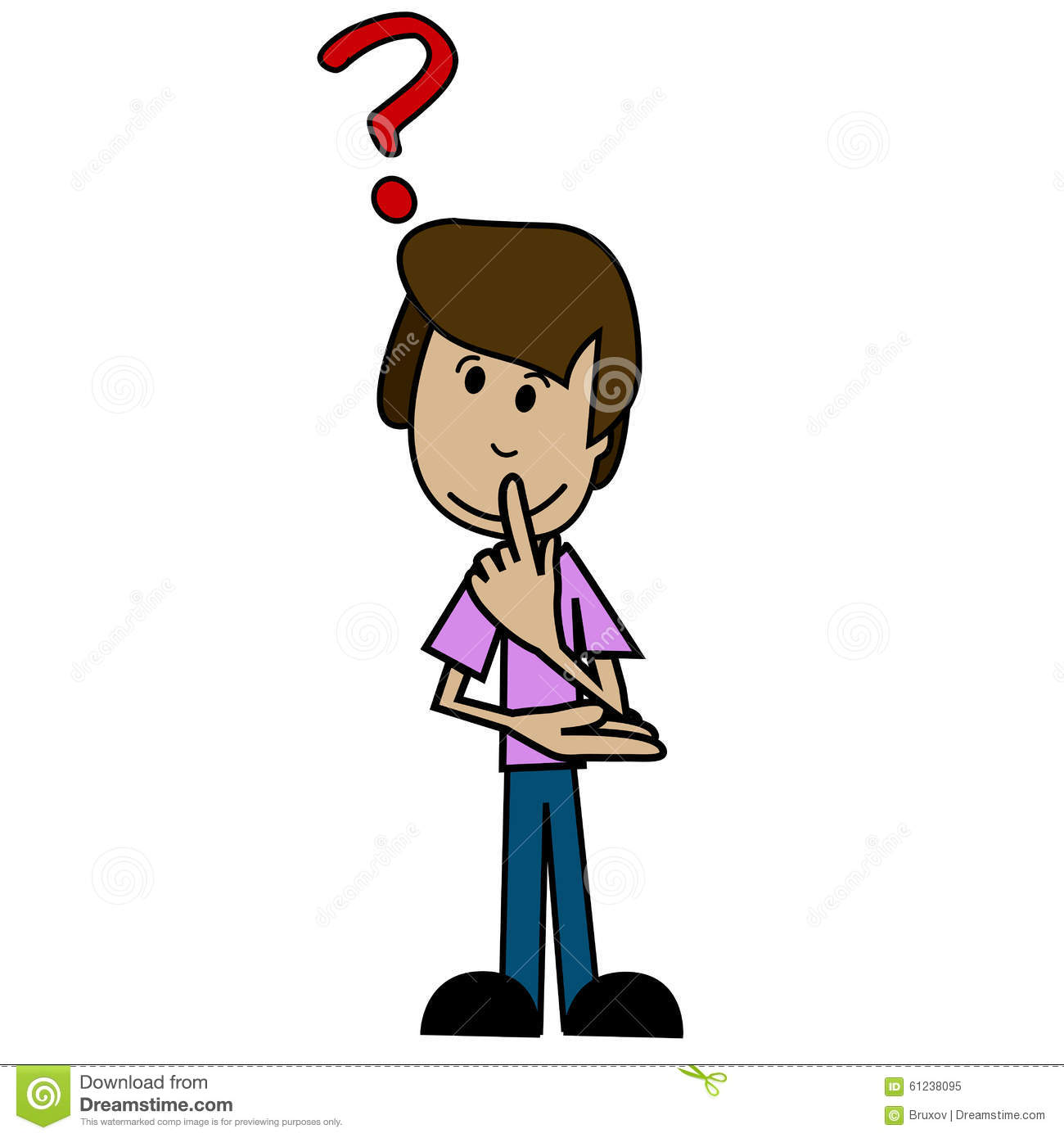 clipart question guy - photo #33