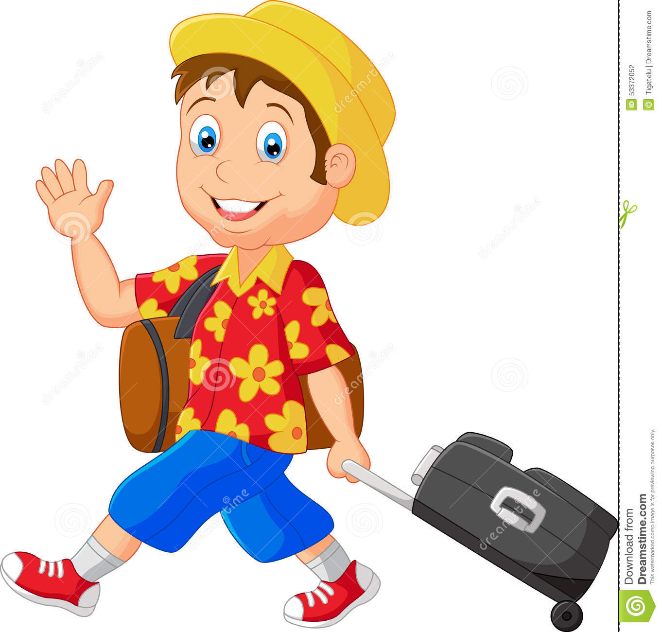 cartoon man with traveling bag stock vector image 53372052 boy reading clipart coloring pages little boy reading clipart
