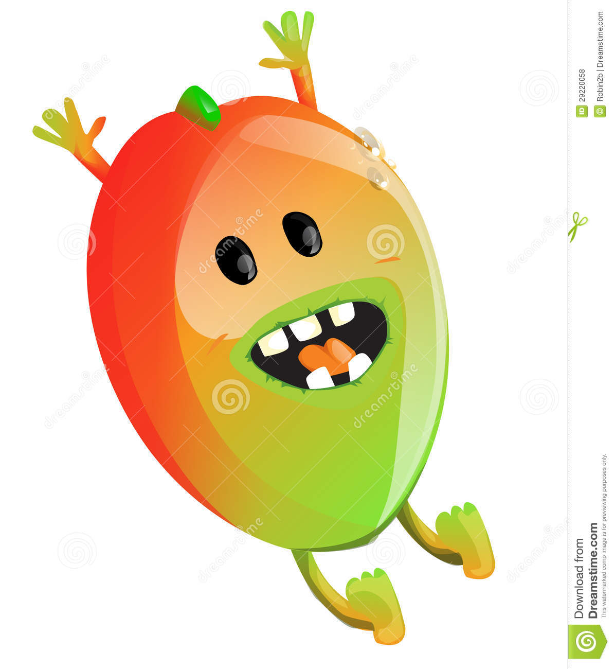 Cartoon Mango Royalty Free Stock Photos - Image: 29220058
