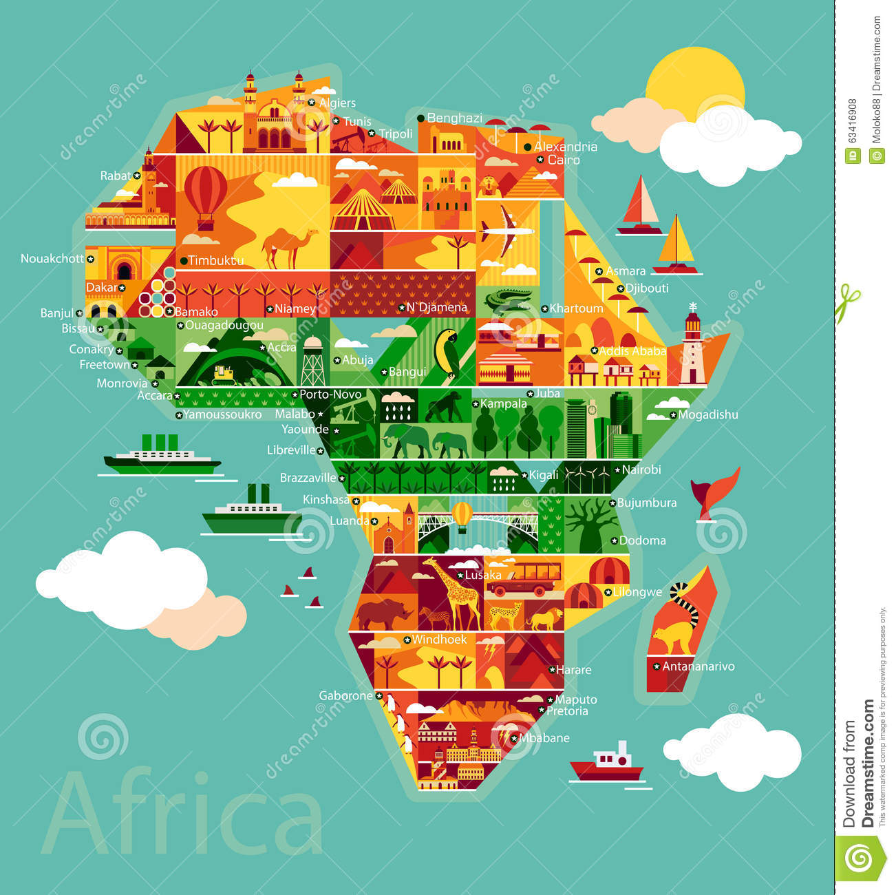 Cartoon map of Africa stock vector. Illustration of camels ... on map of sz, map of sh, map of ei, map of mh, map of gh, map of ke, map of re, map of air force bases overseas, map of asia, map of gl, map of afganis, map of cl, map of africa, map of ci, map of ggc, map of ic, map of sn, map of spangdahlem air force base, map of afr, map of ta,