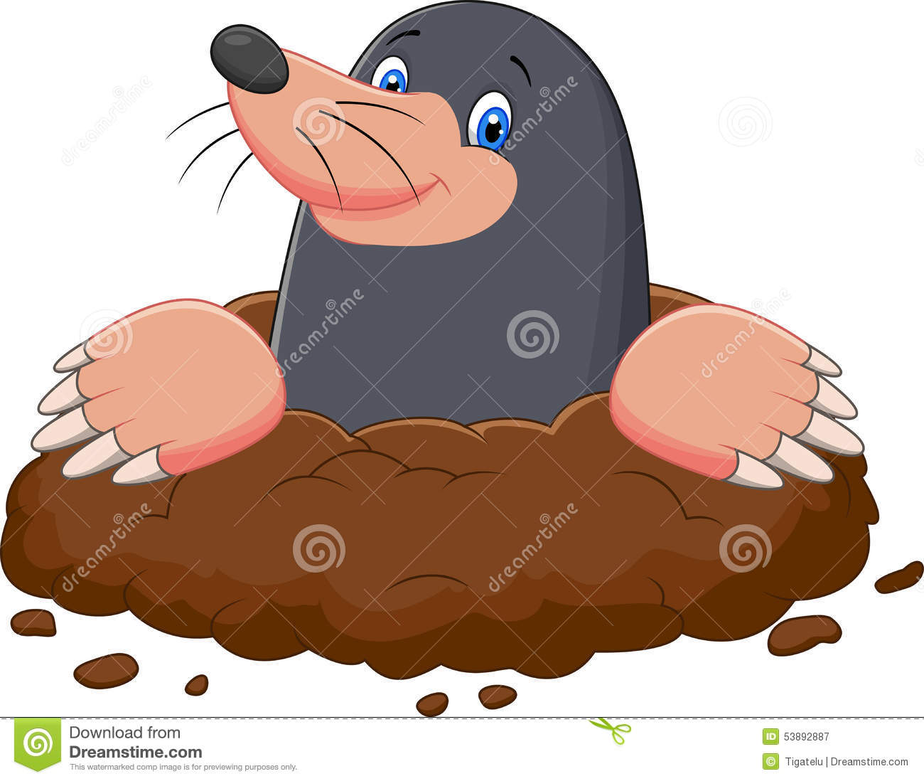 cartoon mole stock illustrations 626 cartoon mole stock rh dreamstime com Chemistry Mole Cartoon cartoon mole images