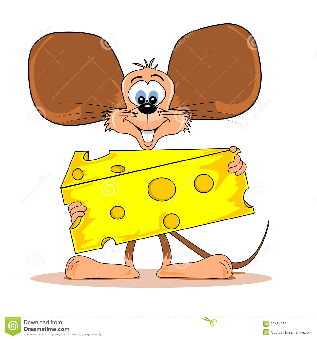 clipart mouse eating cheese - photo #42