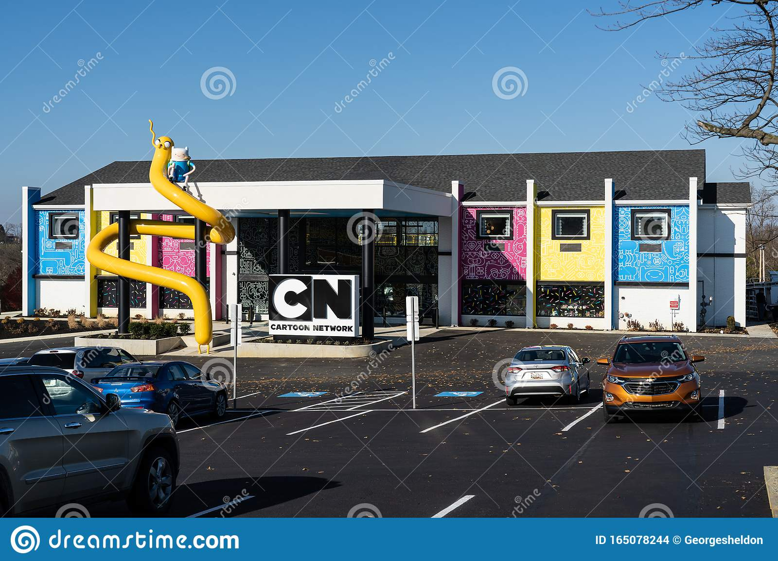 The Cartoon Network Hotel Editorial Stock Image Image Of