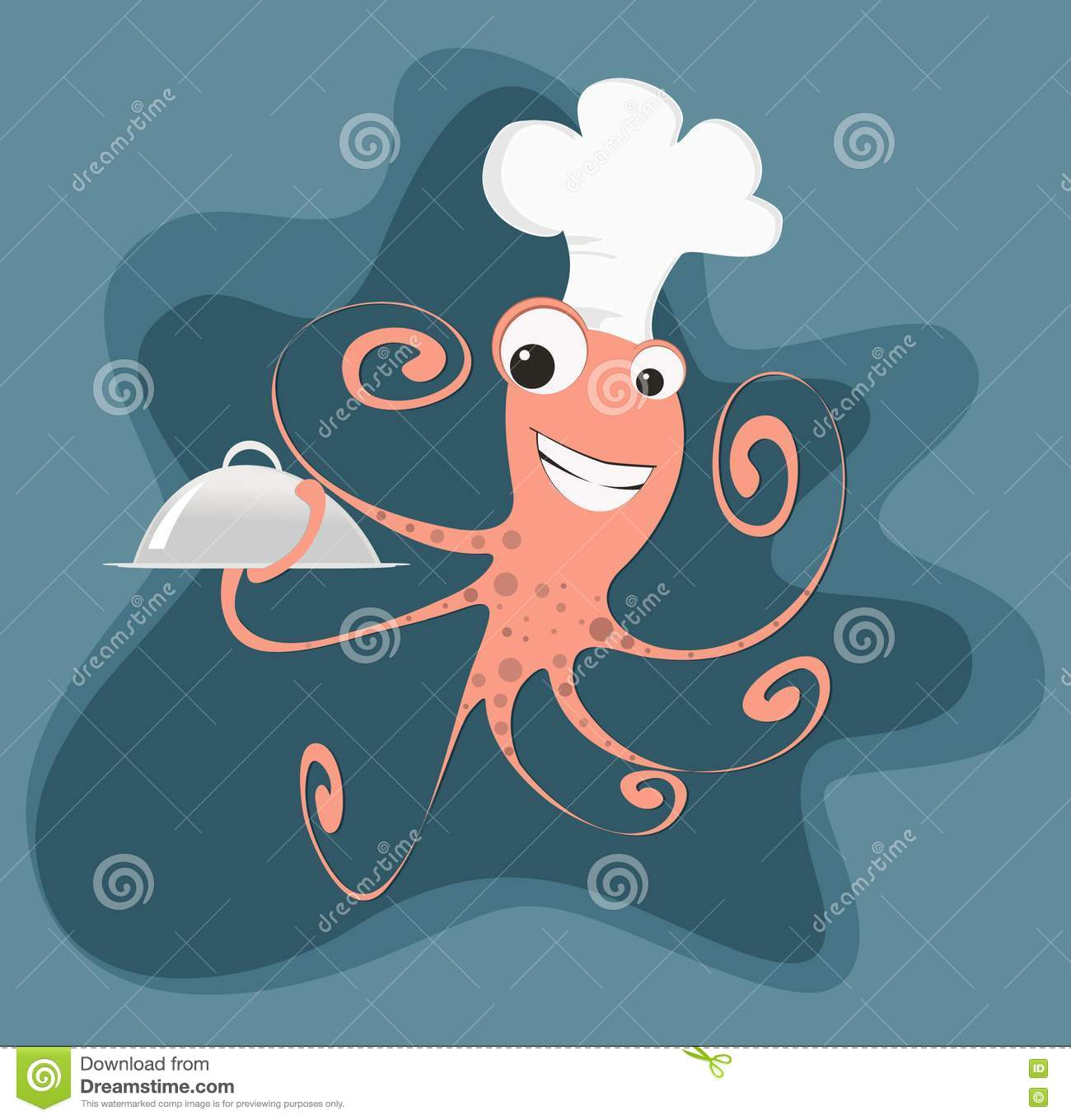 Cartoon octopus for Octopus in cartoon