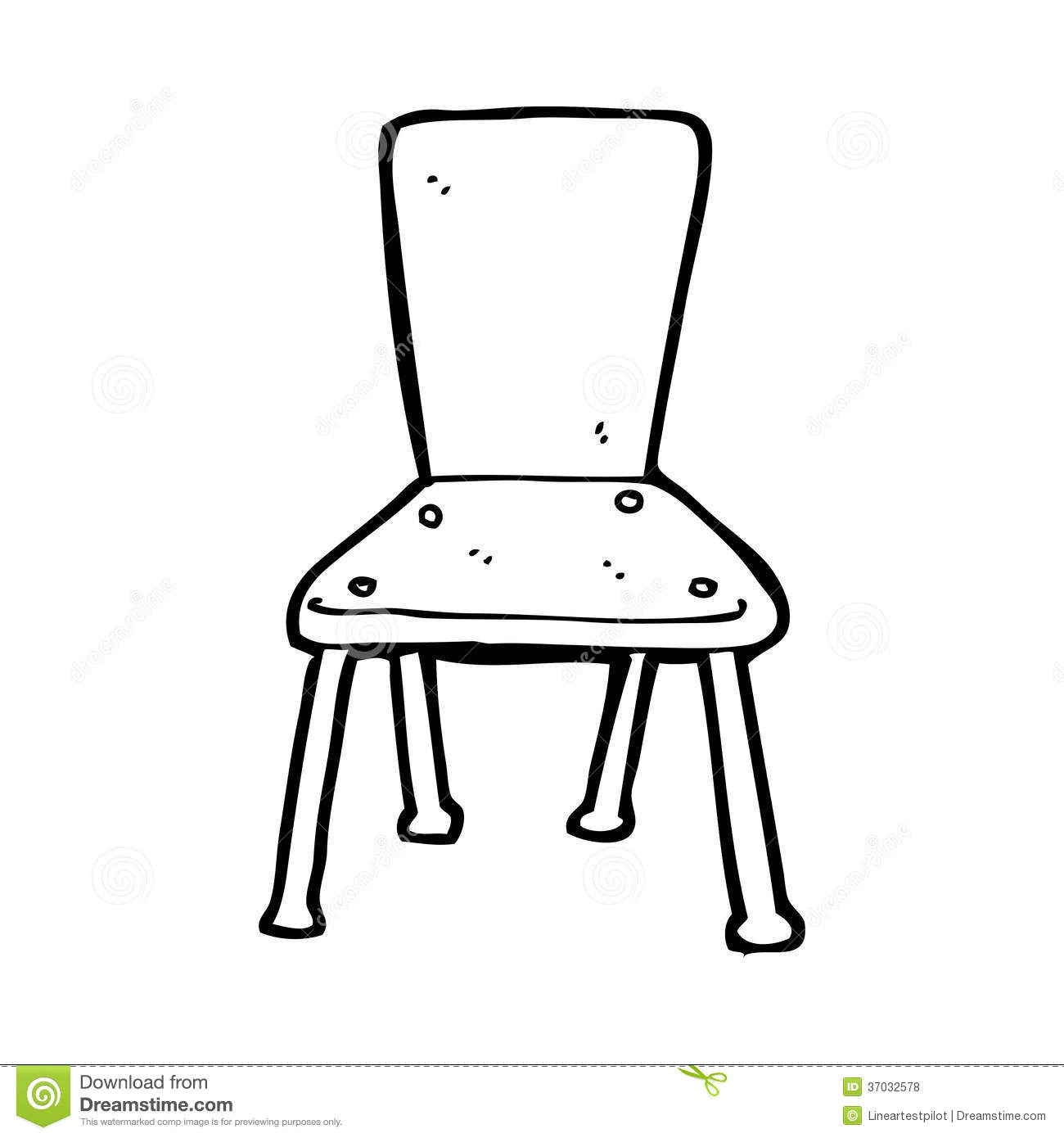 chair clipart black and white. royalty-free stock photo chair clipart black and white