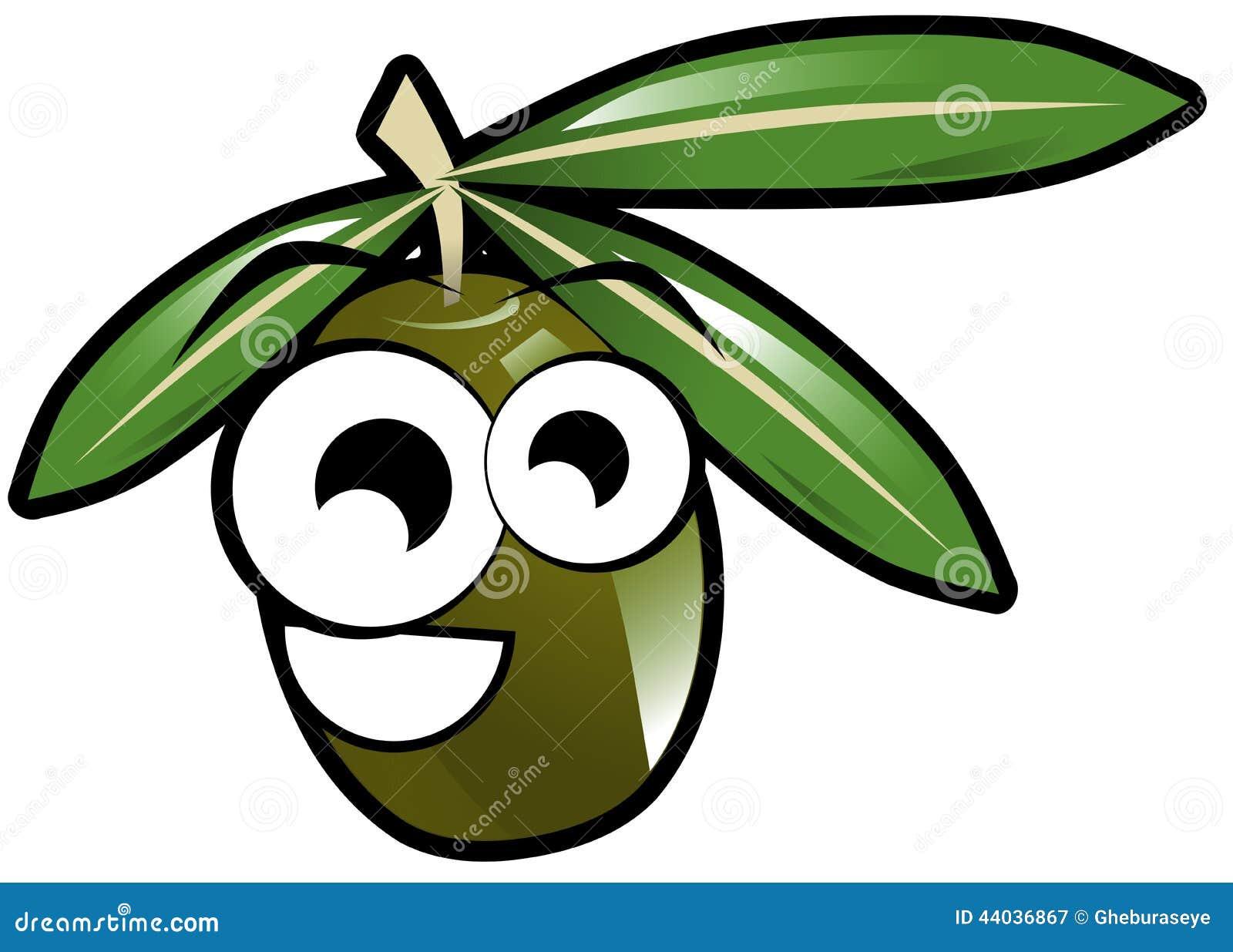 The Daily Prophet Printable Green Olive Cartoon Ha...