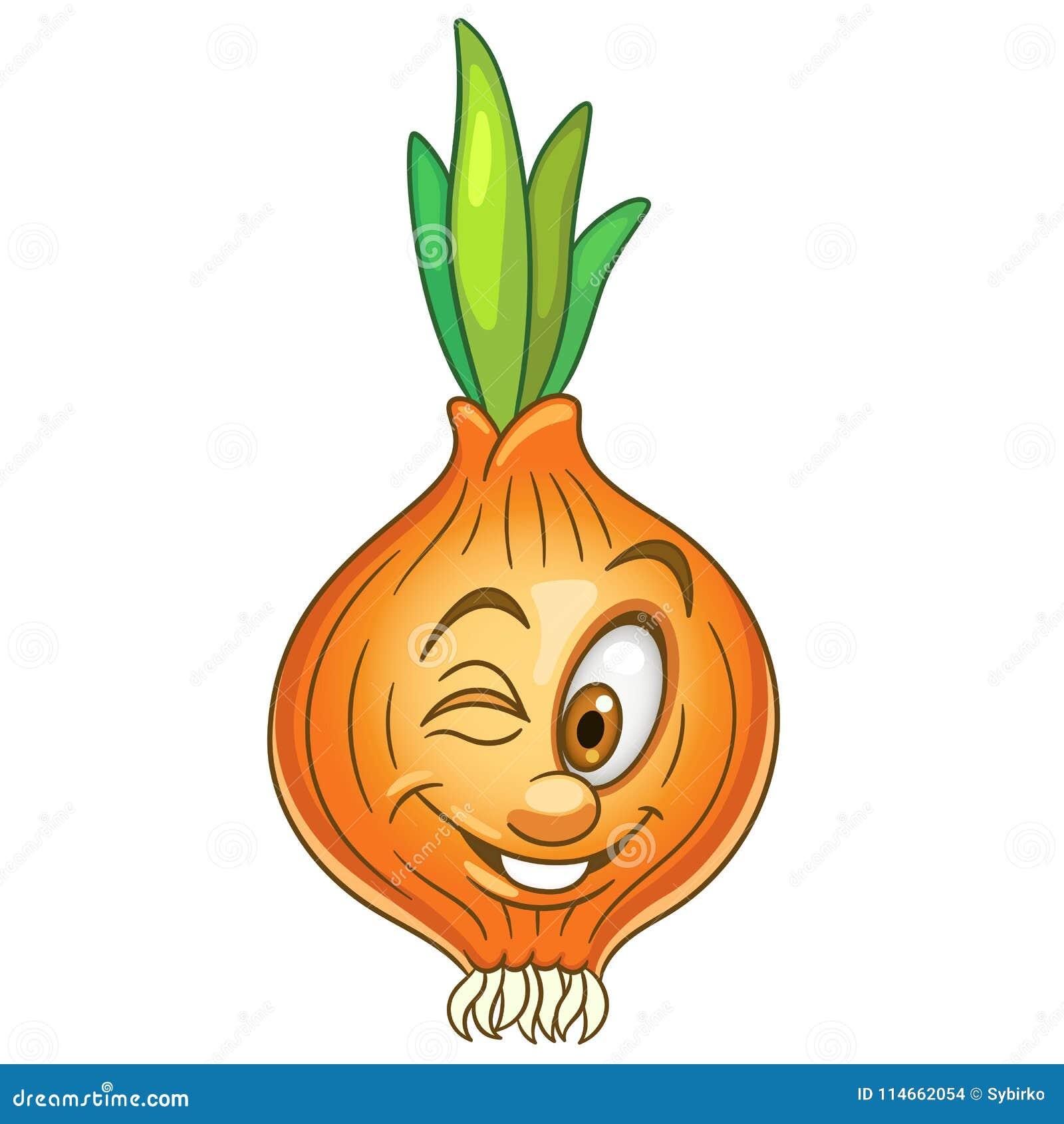 Cartoon Onion character