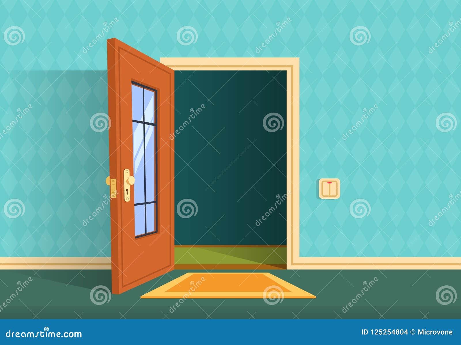 Cartoon Open Door Stock Illustrations 5 899 Cartoon Open Door Stock Illustrations Vectors