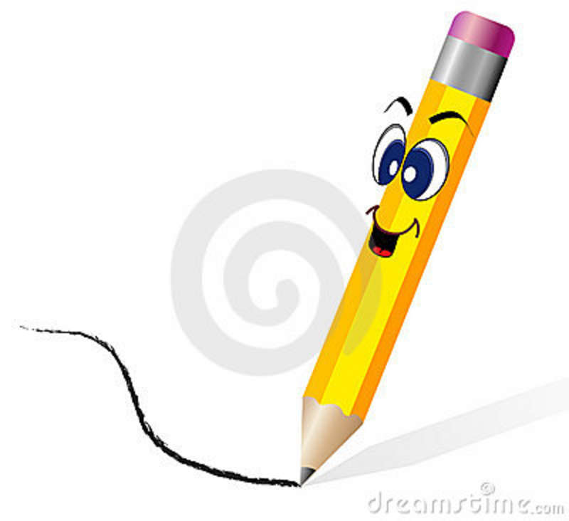 Pencil Drawing Images Cartoons: Cartoon Pencil Stock Vector. Illustration Of Character