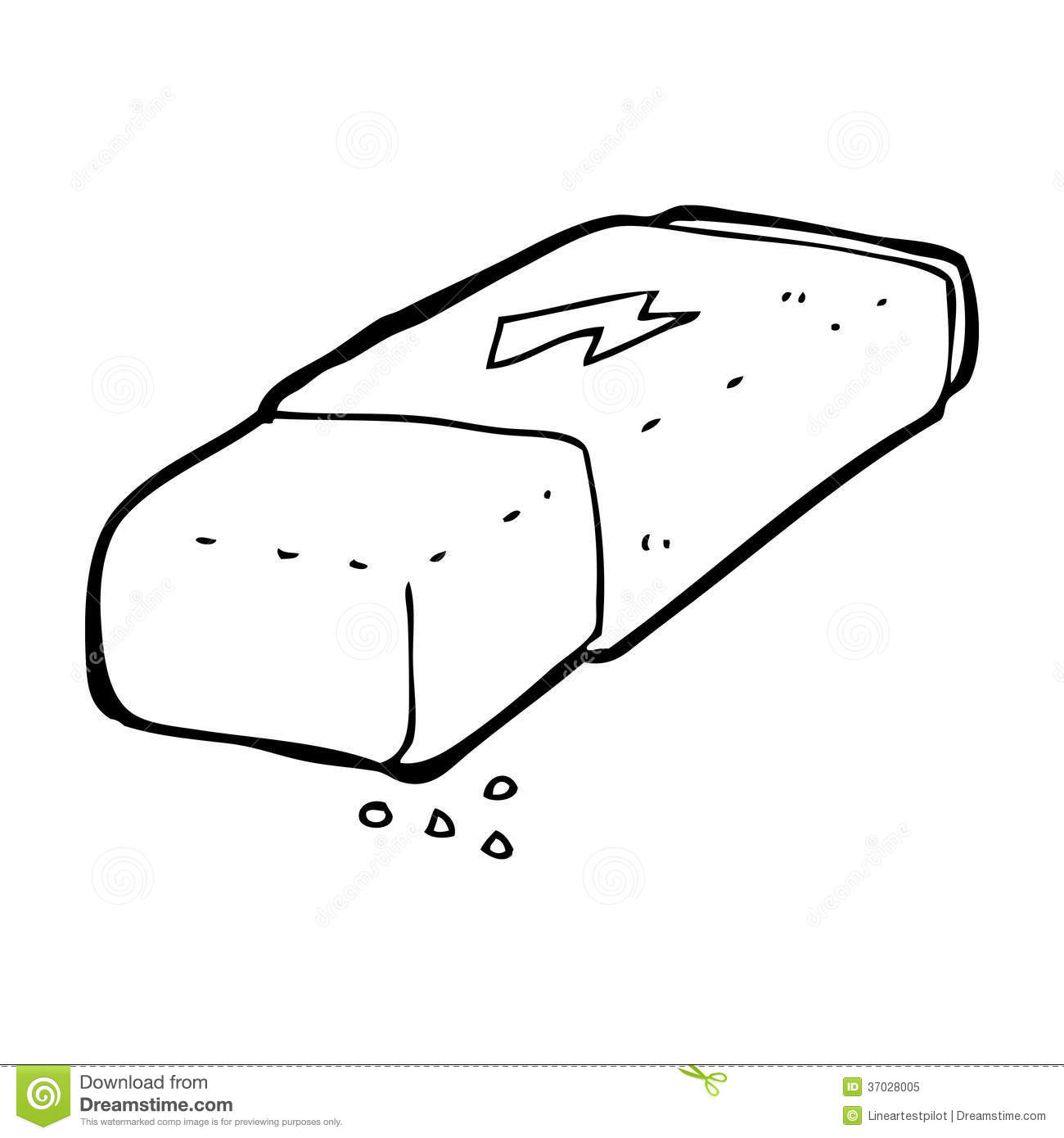 cartoon pencil eraser stock illustration illustration of eraser 37028005 dreamstime com