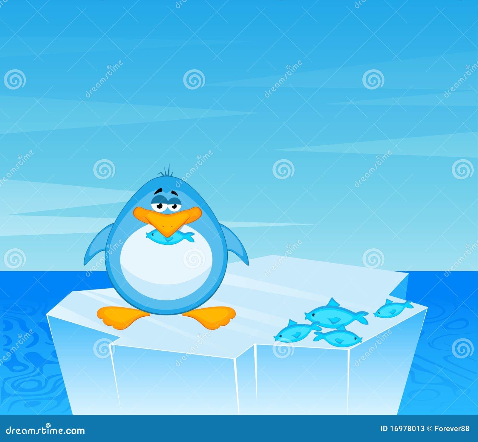 cartoon penguin stock vector  illustration of cold  funny