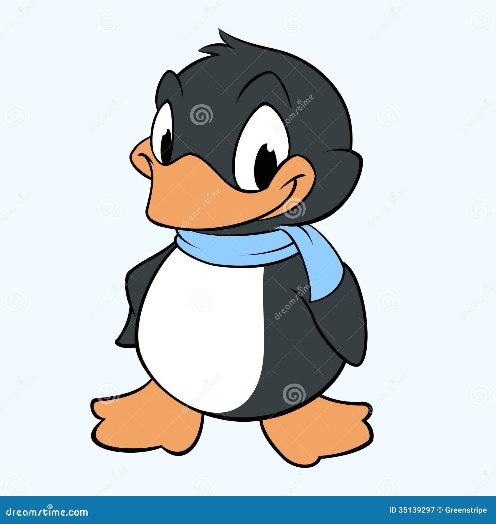 Cartoon Penguin Royalty Free Stock Photography - Image ...