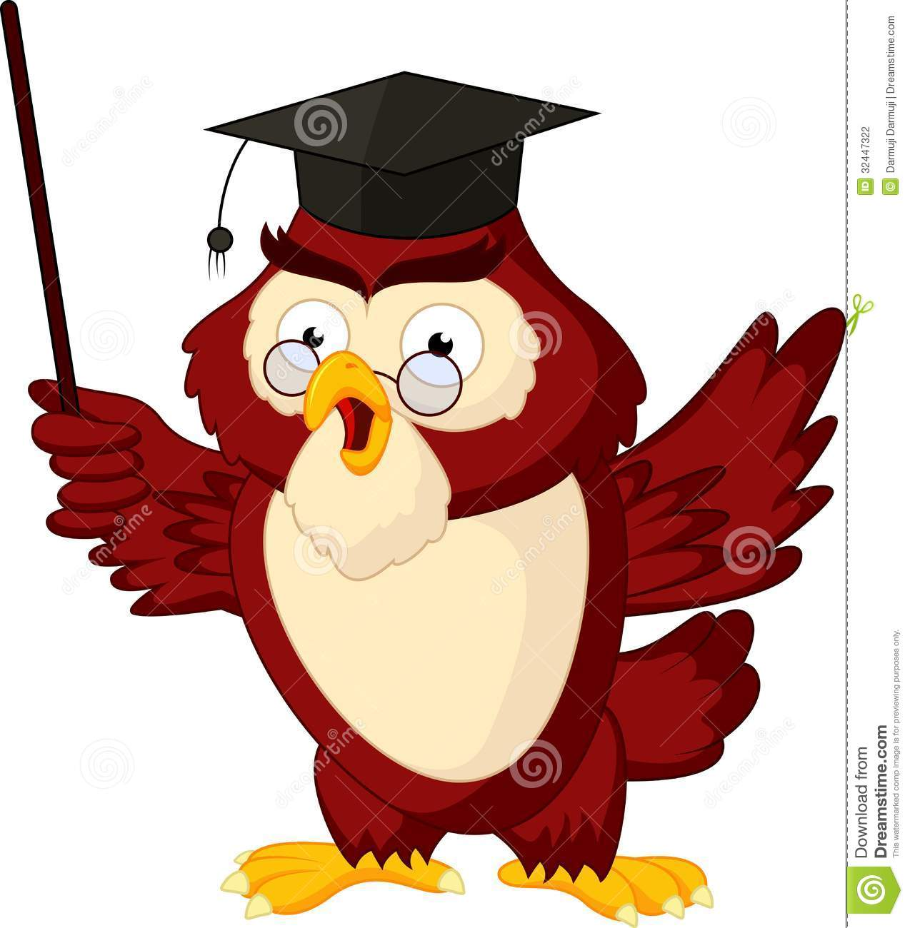 Teacher Owl Clipart