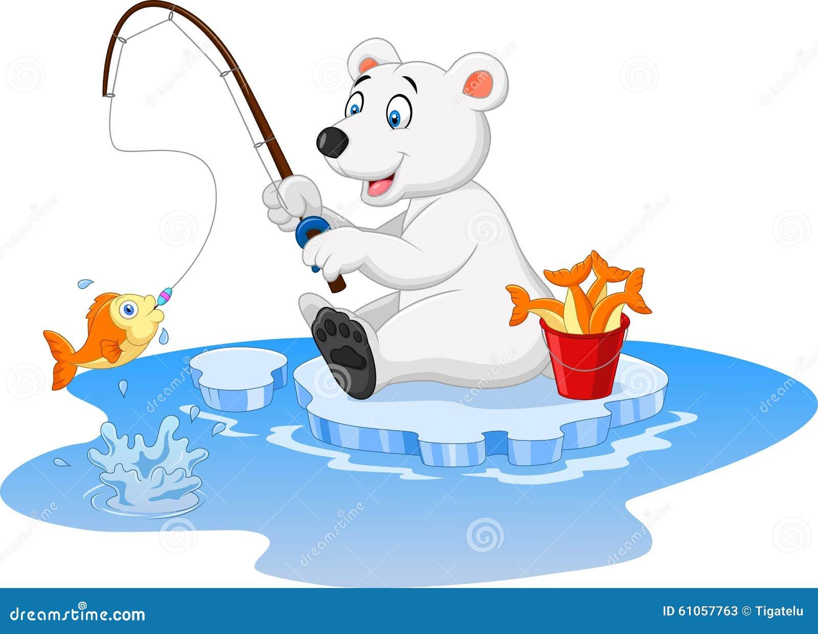 белый медведь рыболовная компания