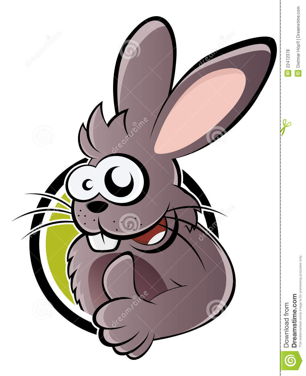 cartoon rabbit with thumb up royalty free stock photos free clipart of owls reading free clipart of owl in flight