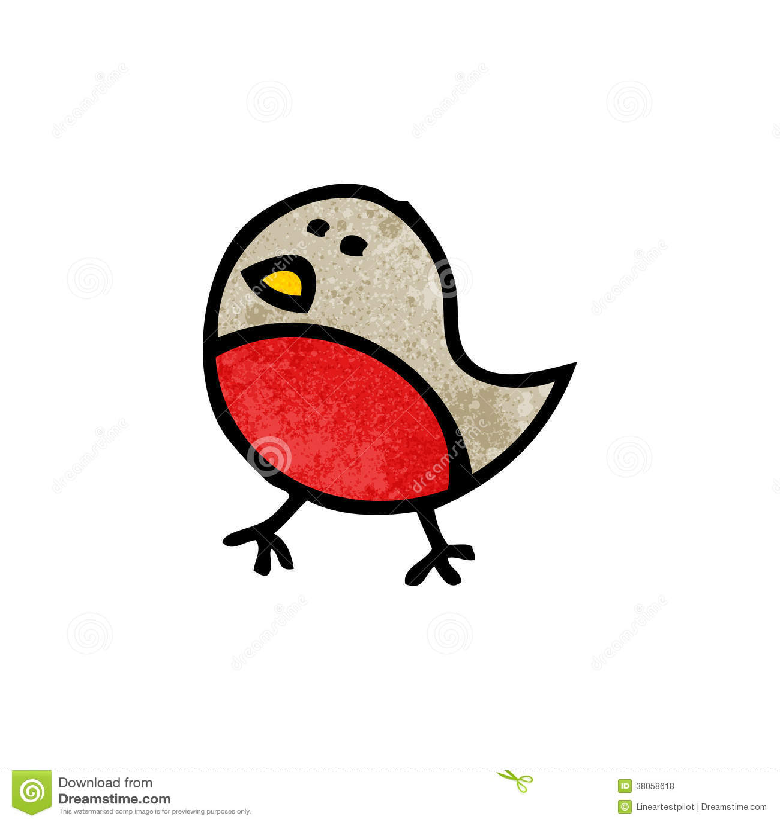 Cartoon robin symbol stock vector illustration of traditional royalty free stock photo buycottarizona Gallery