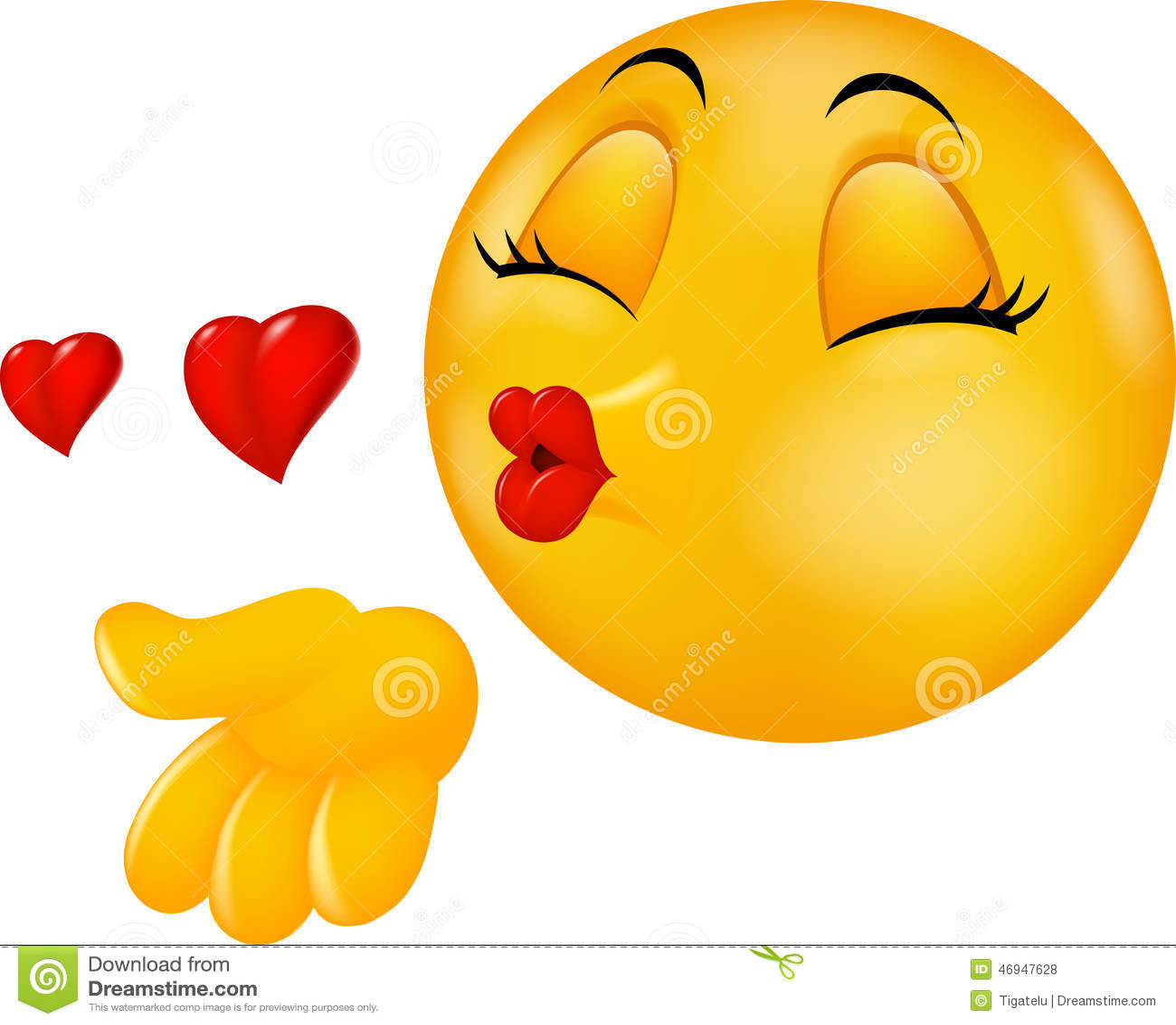 cartoon round kissing face emoticon making air kiss stock vector rh dreamstime com cartoon kissy face cartoon kissy face gif