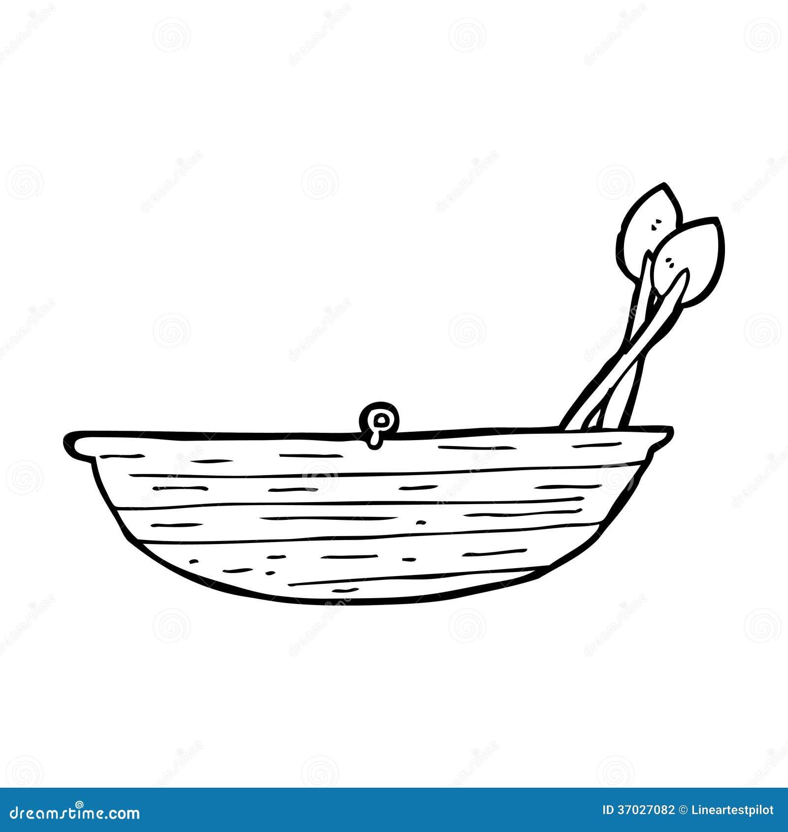 Cartoon rowing boat stock illustration. Illustration of ...