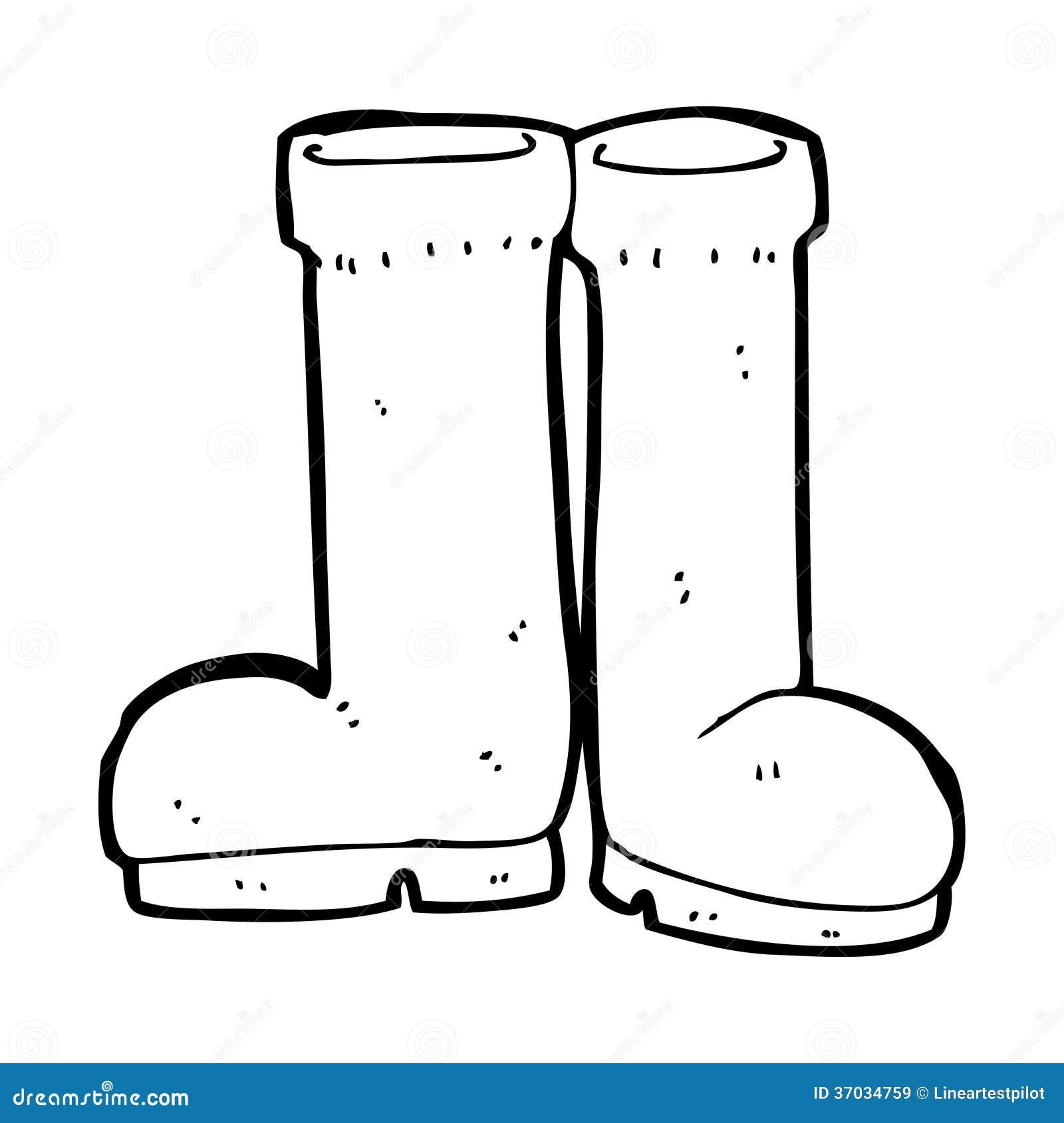 Rain boots coloring page - e-pic.info