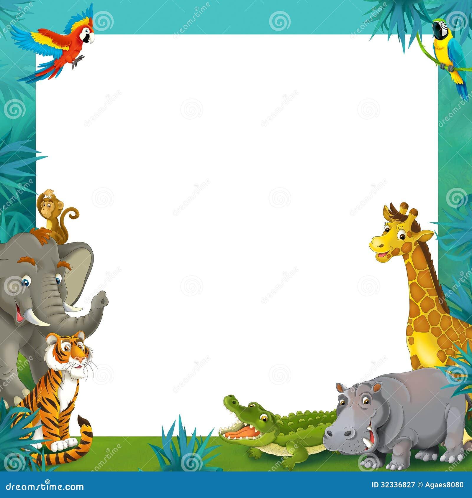 Jungle Border Jungle - frame border