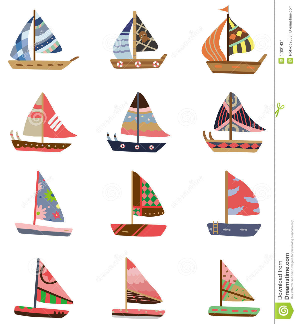 Gallery For gt Cartoon Sailboat