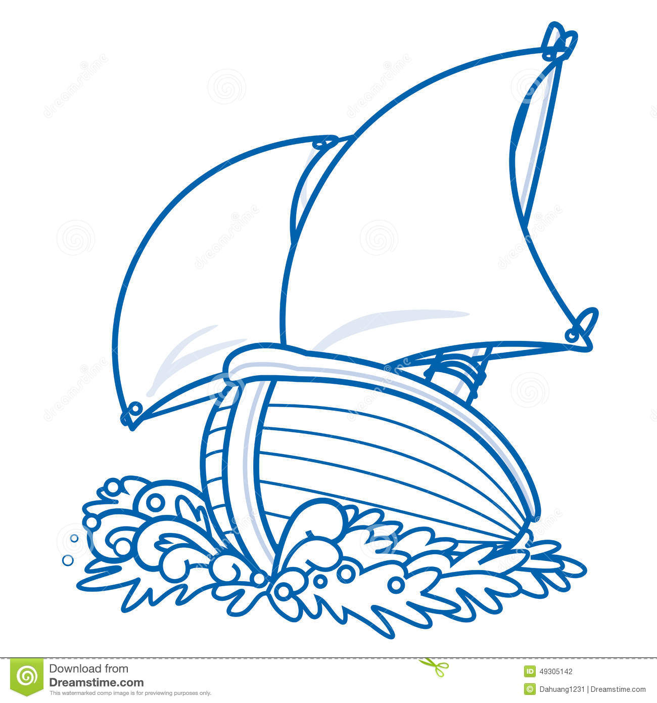 Image result for pic of cartoon sail boat