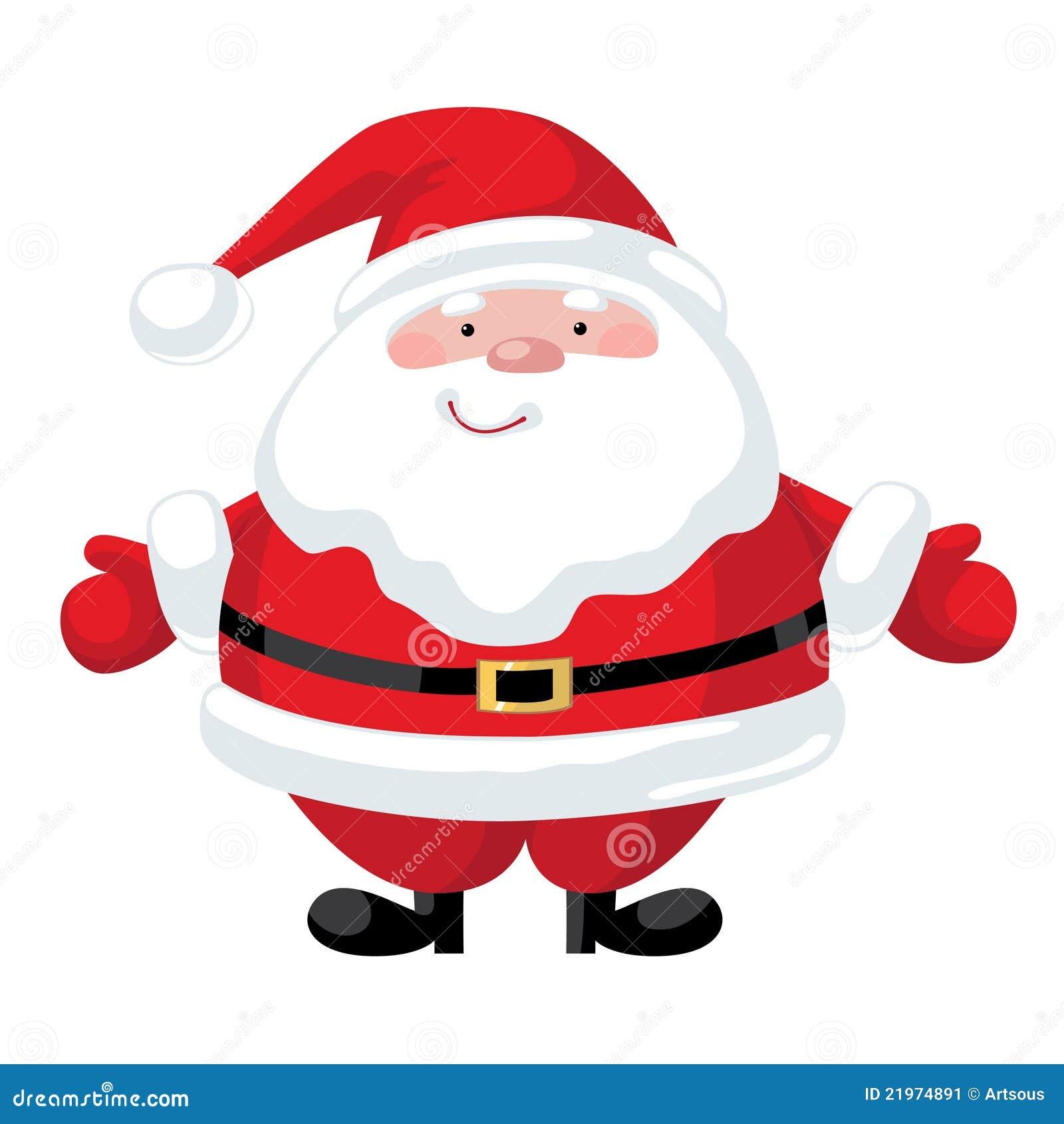 cartoon santa claus stock image image 21974891 Santa Claus Outline Bernie Sanders Vector