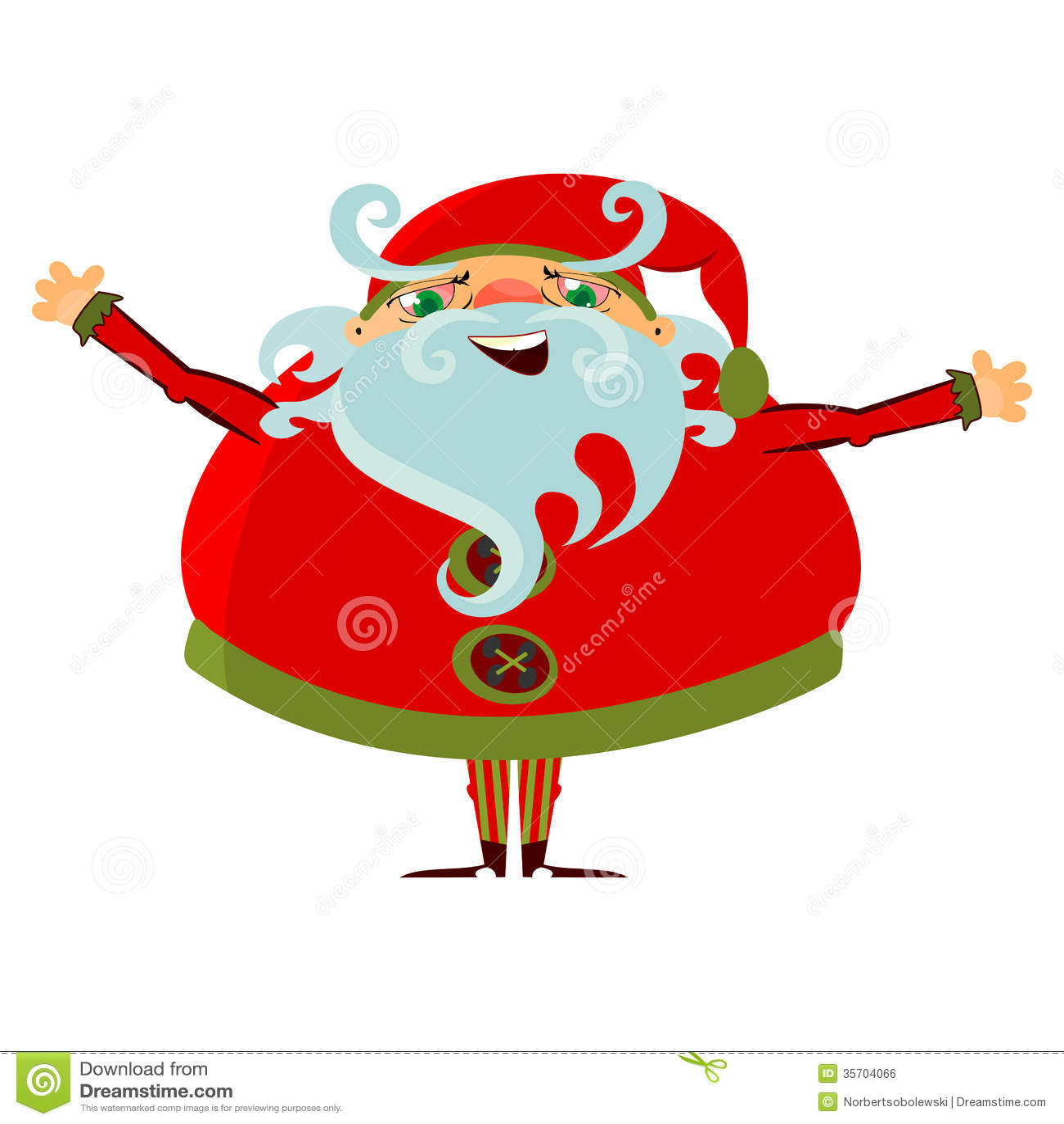 cartoon santa claus royalty free stock photo cartoondealer com