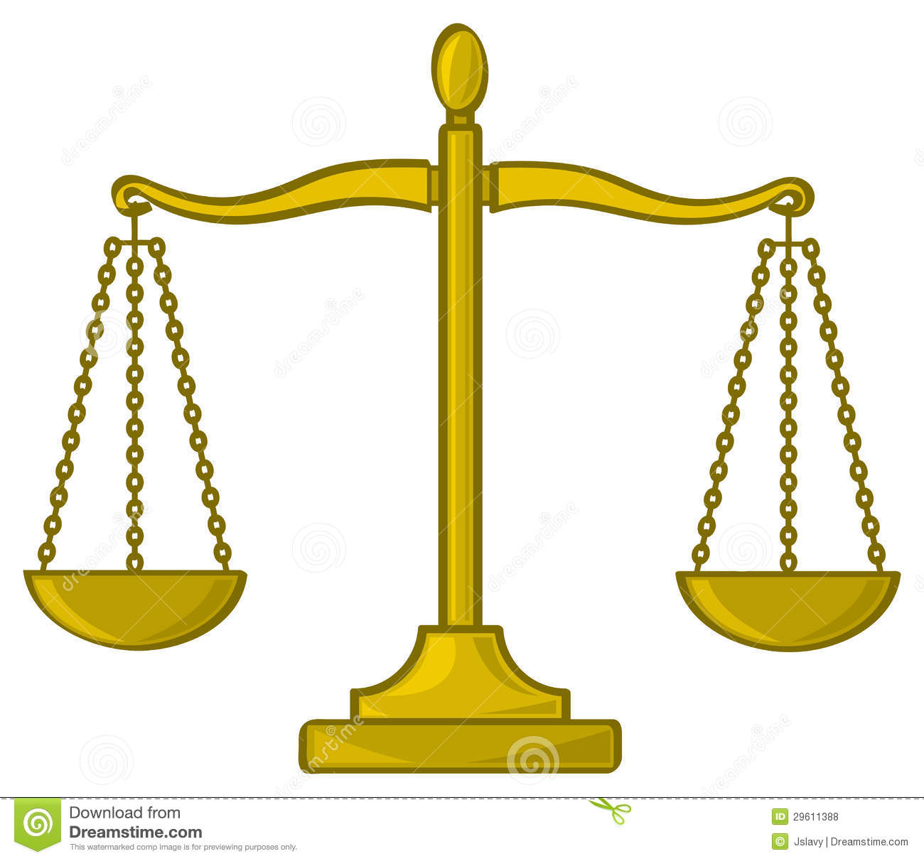 cartoon scales of justice royalty free stock photos   image 29611388
