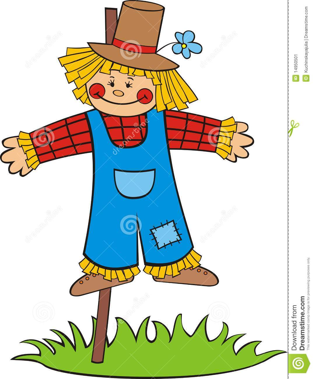 Cute scarecrow cartoon images amp pictures becuo