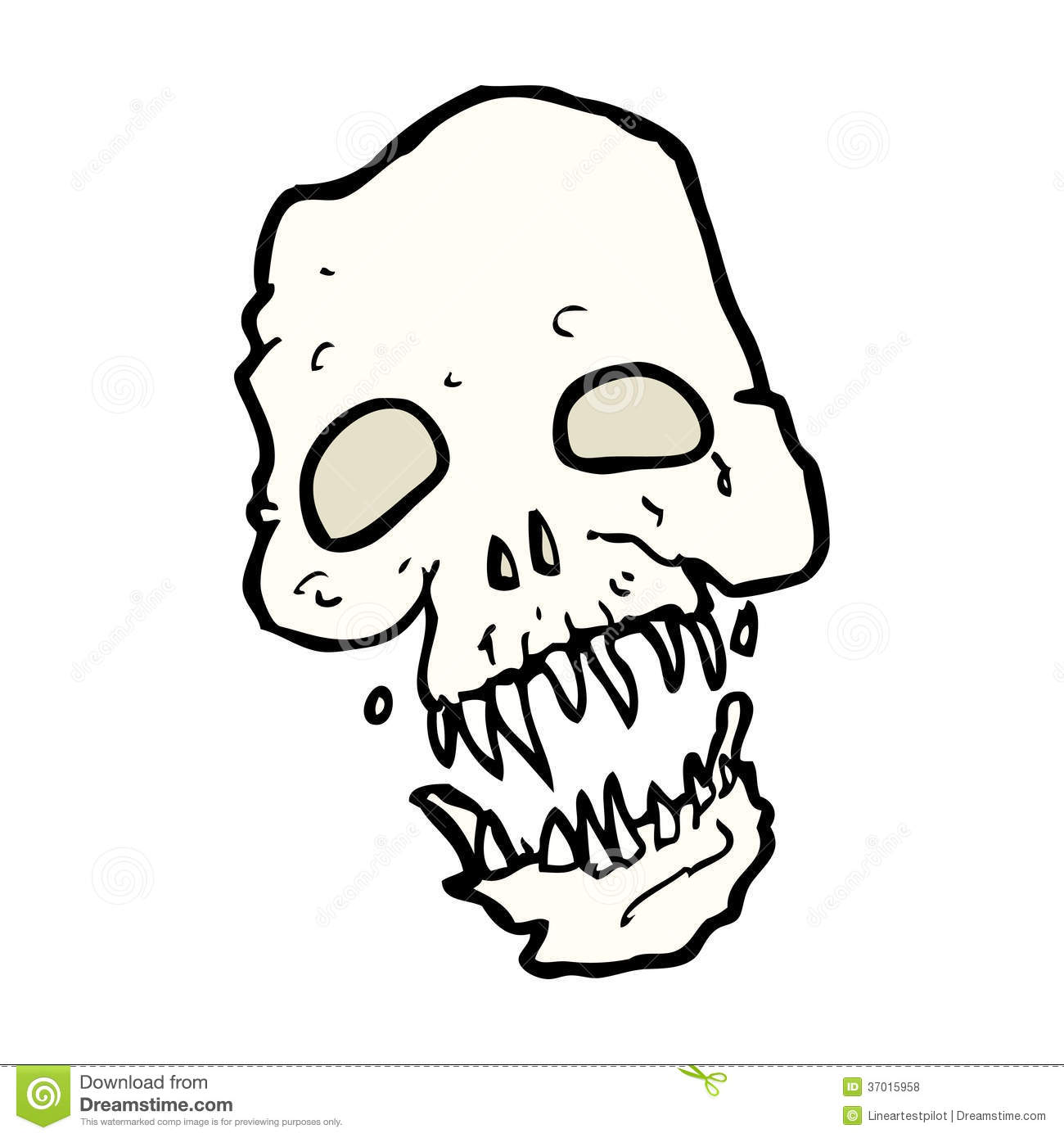 Royalty Free Stock Photos Cartoon Scary Skull Hand Drawn Illustration Retro Style Vector Available Image37015958 on scary halloween music and sounds free
