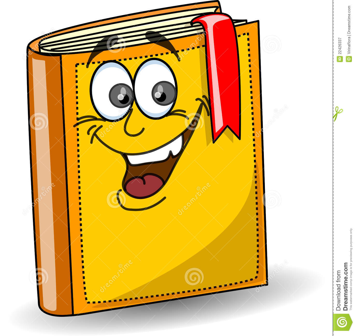 Cartoon School Book ,vector Royalty Free Stock Photography - Image ...