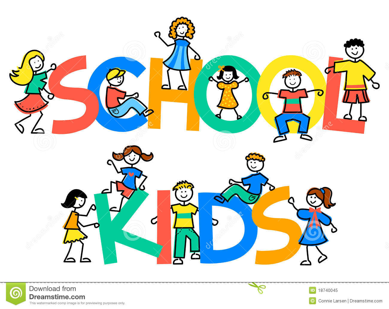 royalty free stock photo download cartoon school kidseps