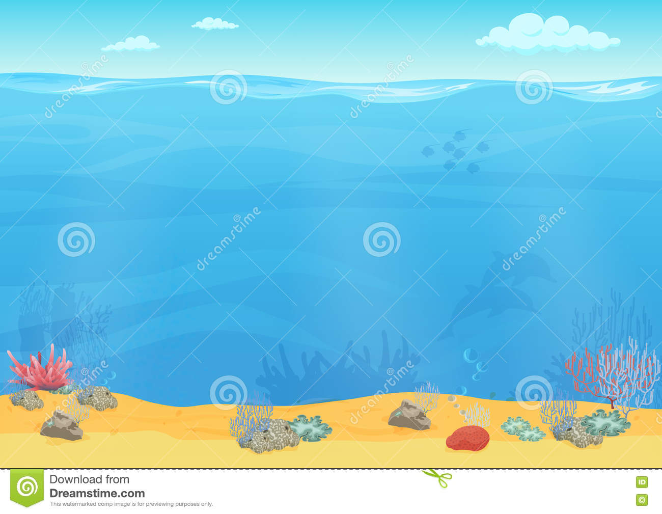 Cartoon Ocean Background Pictures to Pin on Pinterest ...