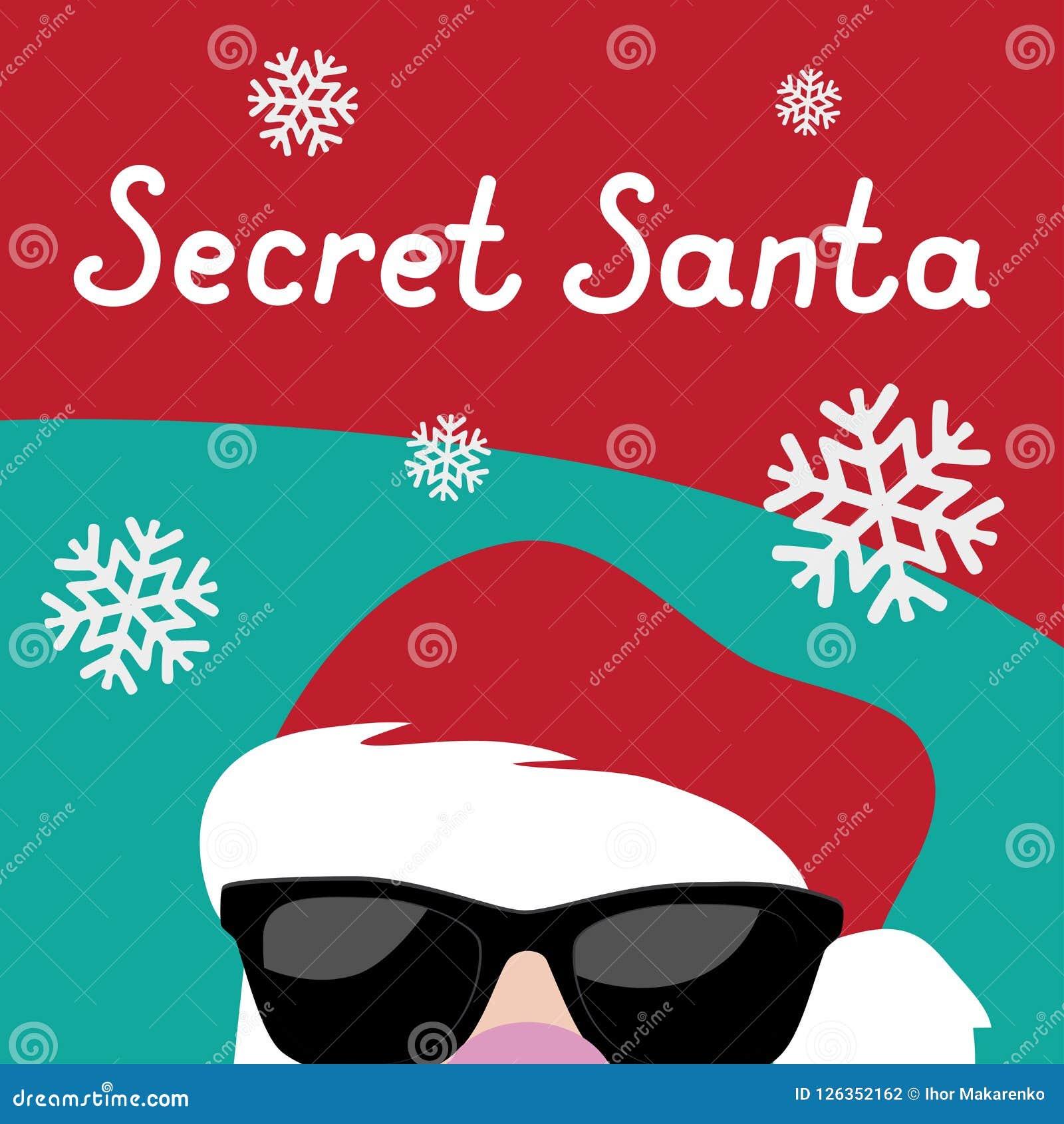 Secret Santa Template Free from thumbs.dreamstime.com