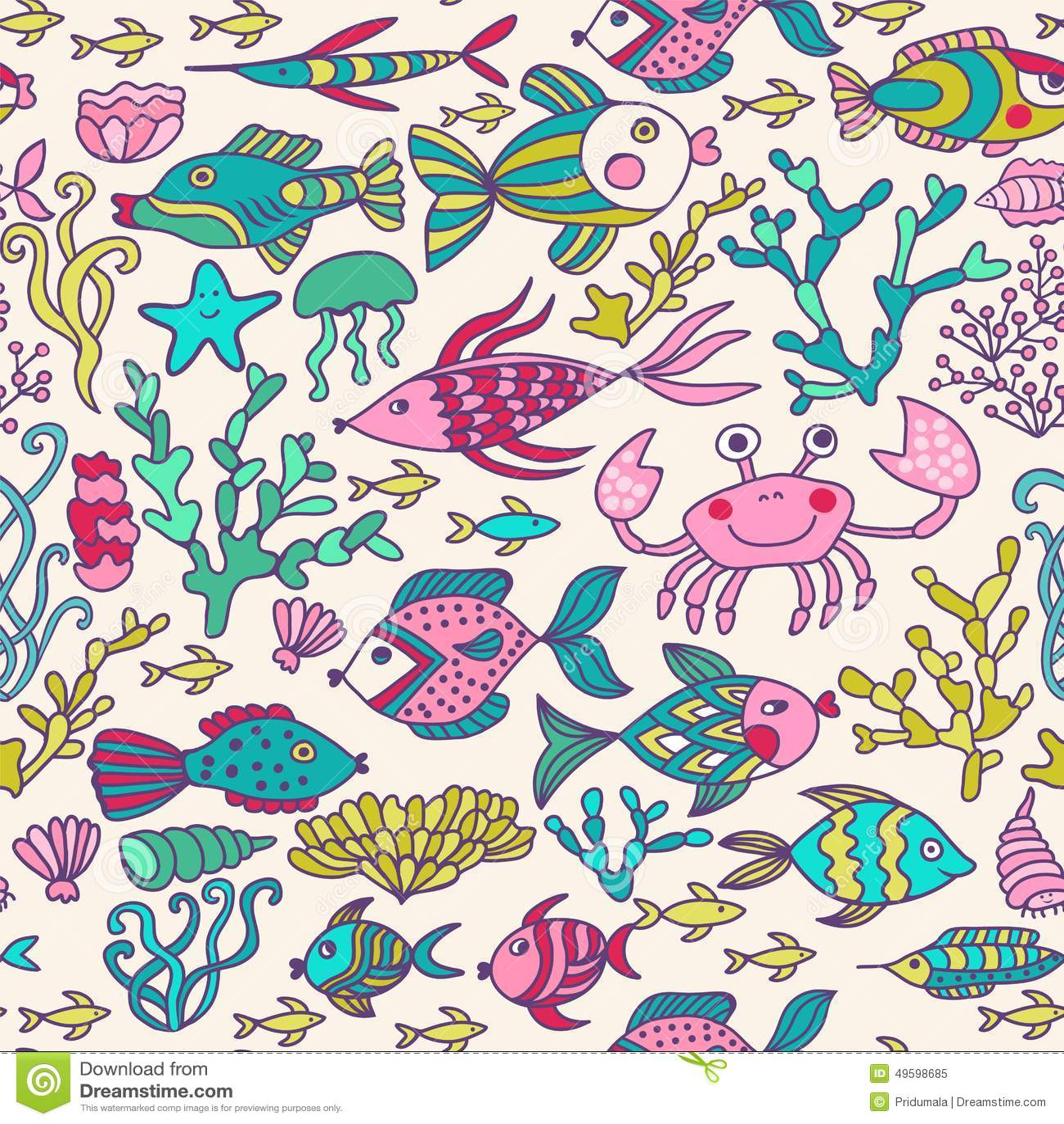 ocean fish wallpaper pattern - photo #22