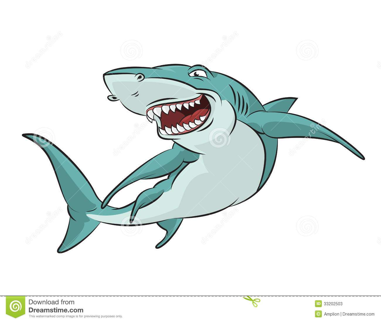 Cartoon Shark Stock Photos - Image: 33202503