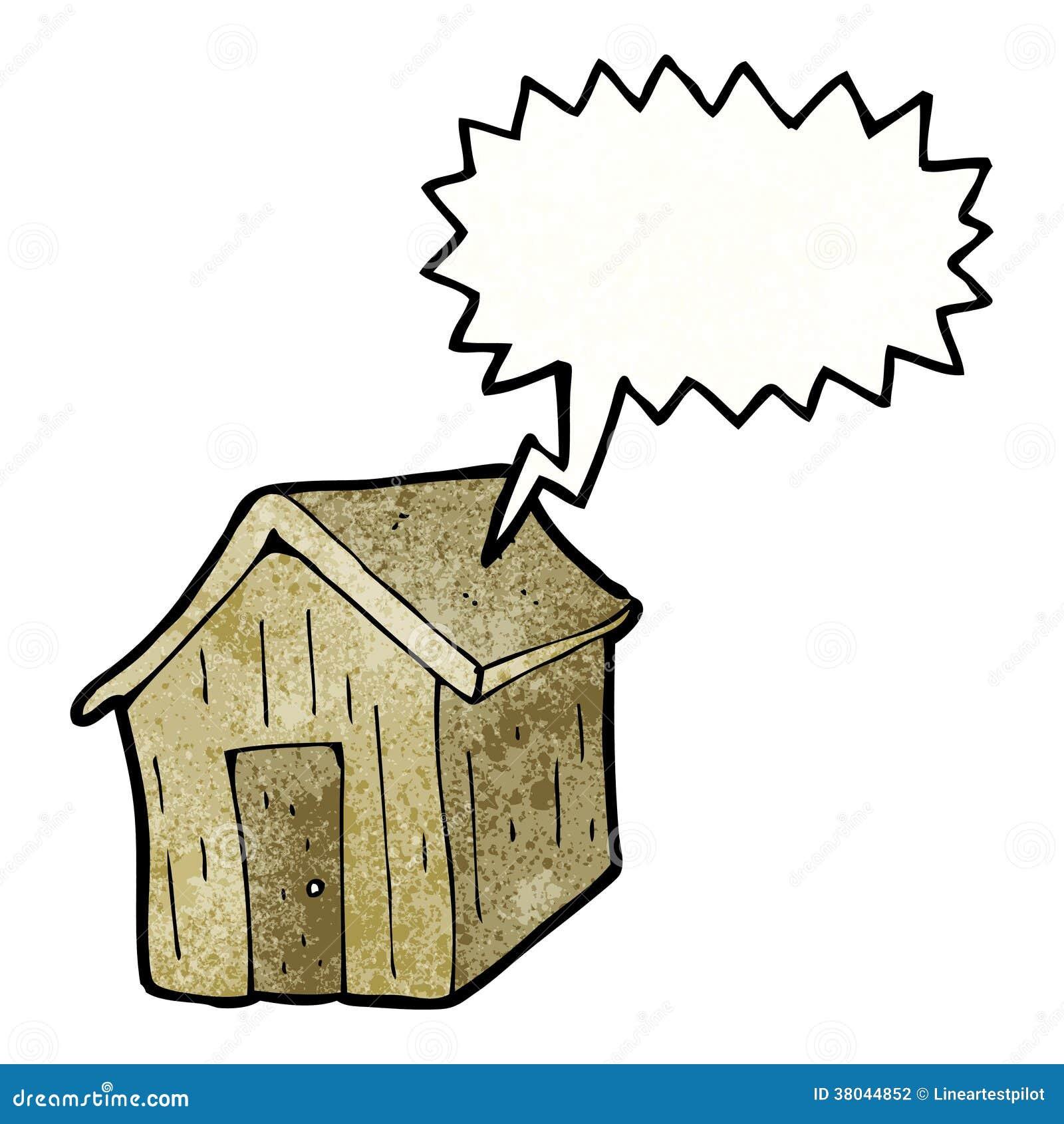 Cartoon Shed Stock Photography Image 38044852