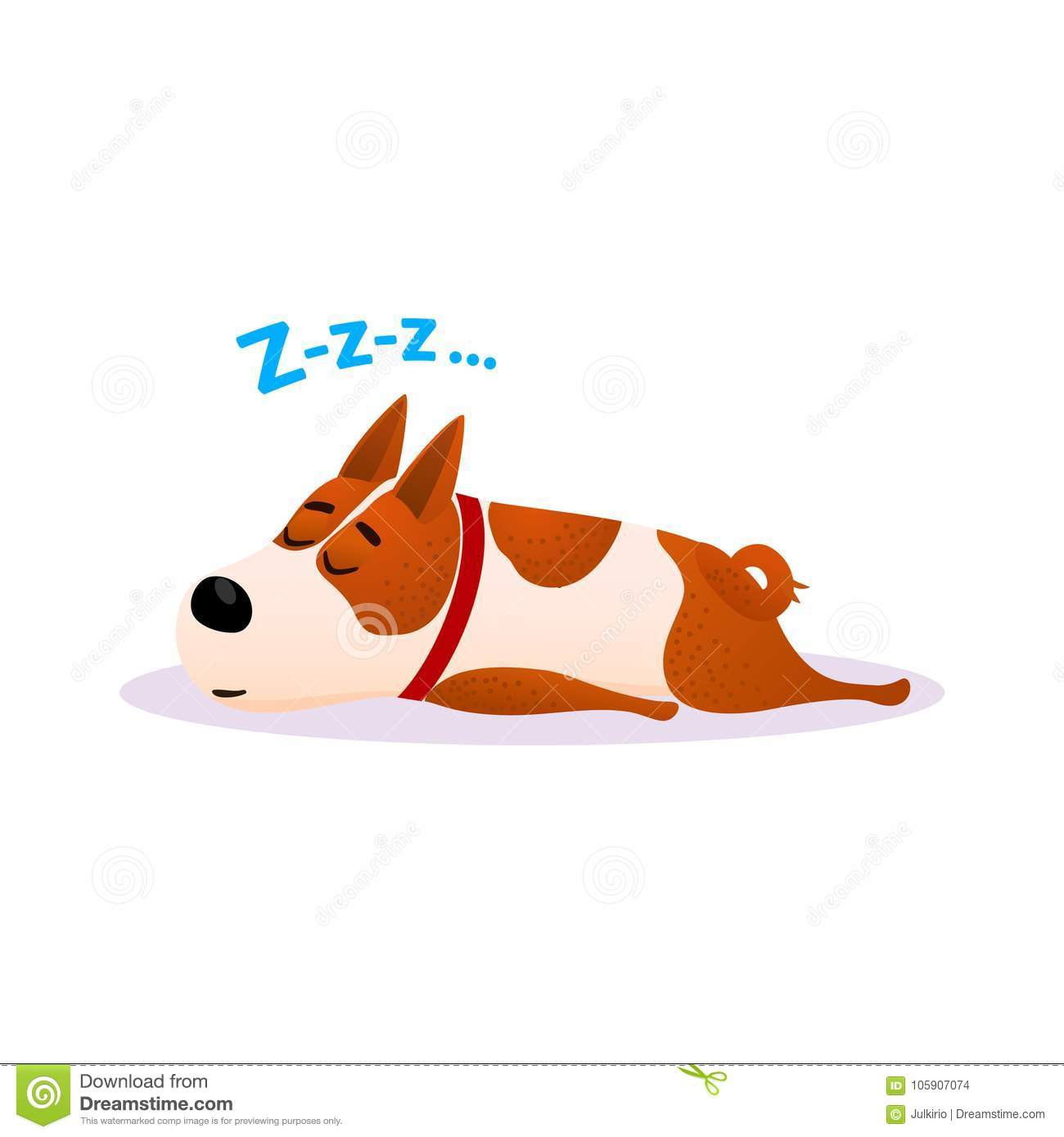 Picture Of Dog Lying On Bed